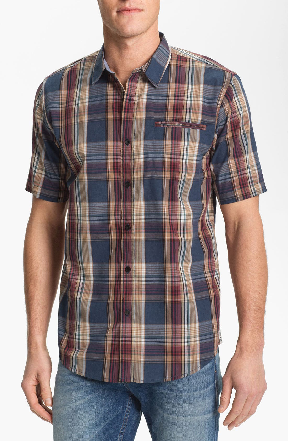Main Image - Ezekiel 'Collins' Plaid Woven Shirt