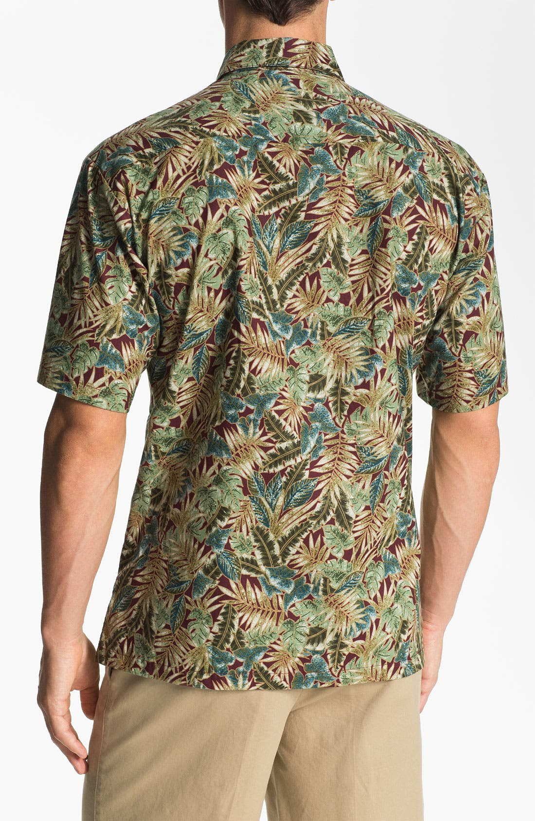 Alternate Image 2  - Tori Richard 'Leafthology' Sport Shirt