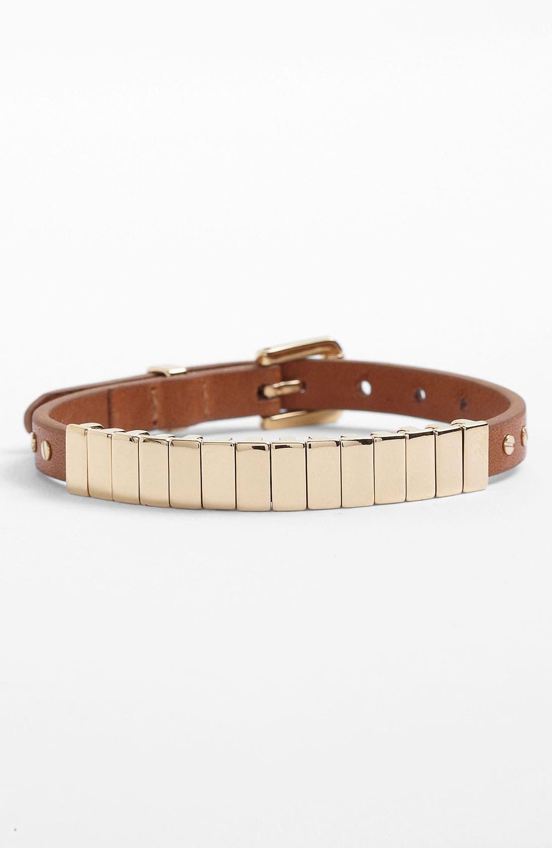 Alternate Image 2  - Michael Kors 'Darrington' Leather Bracelet