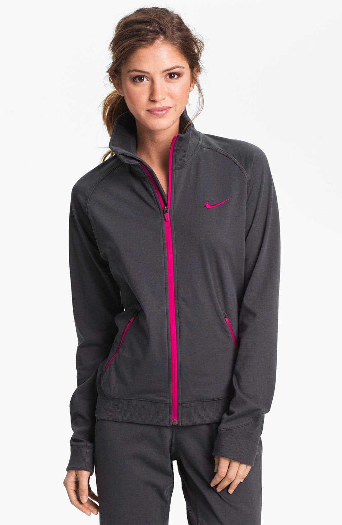 Alternate Image 1 Selected - Nike 'All Time' Dri-FIT Jacket
