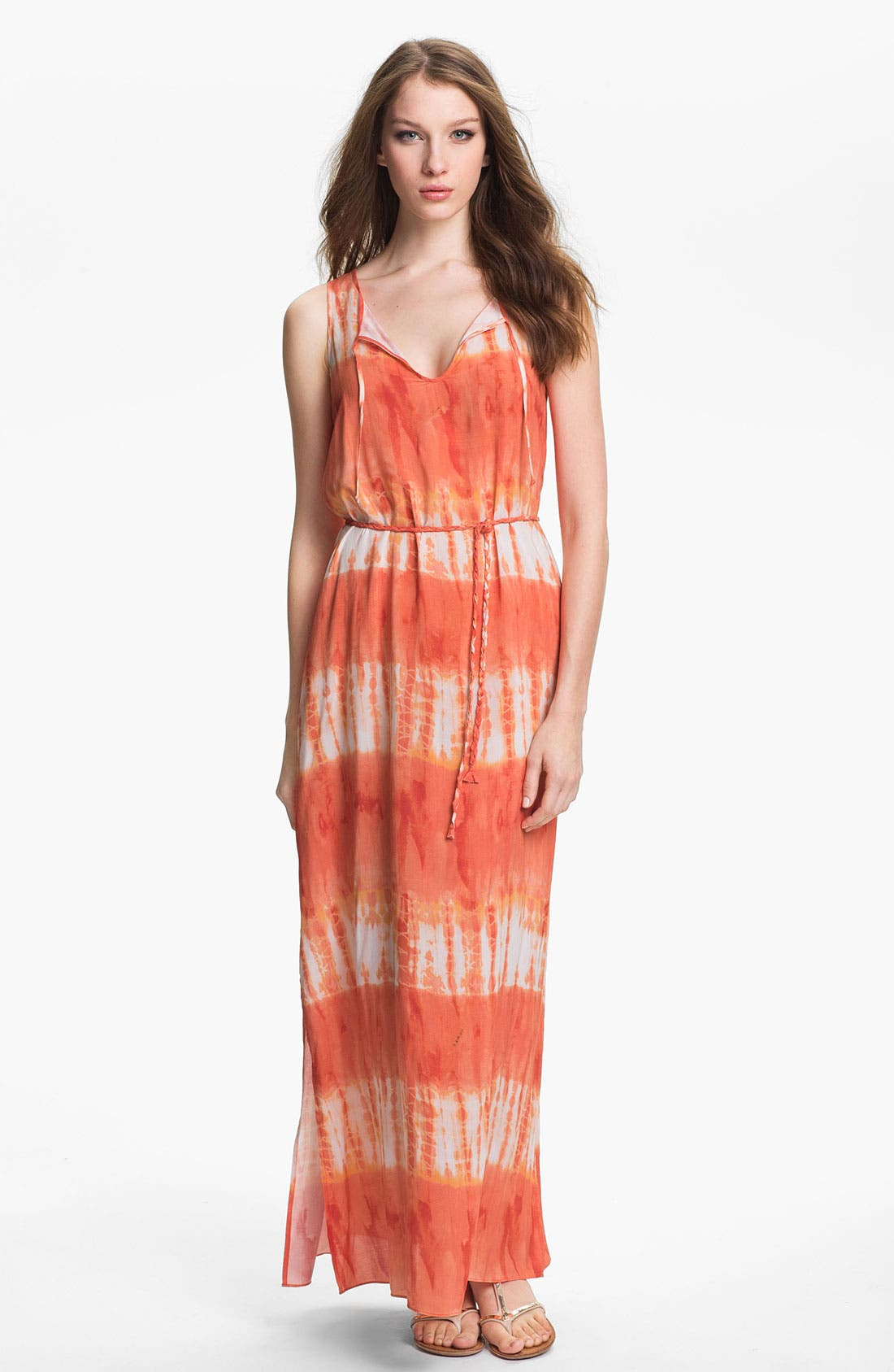 Main Image - Two by Vince Camuto Tie Waist Maxi Dress