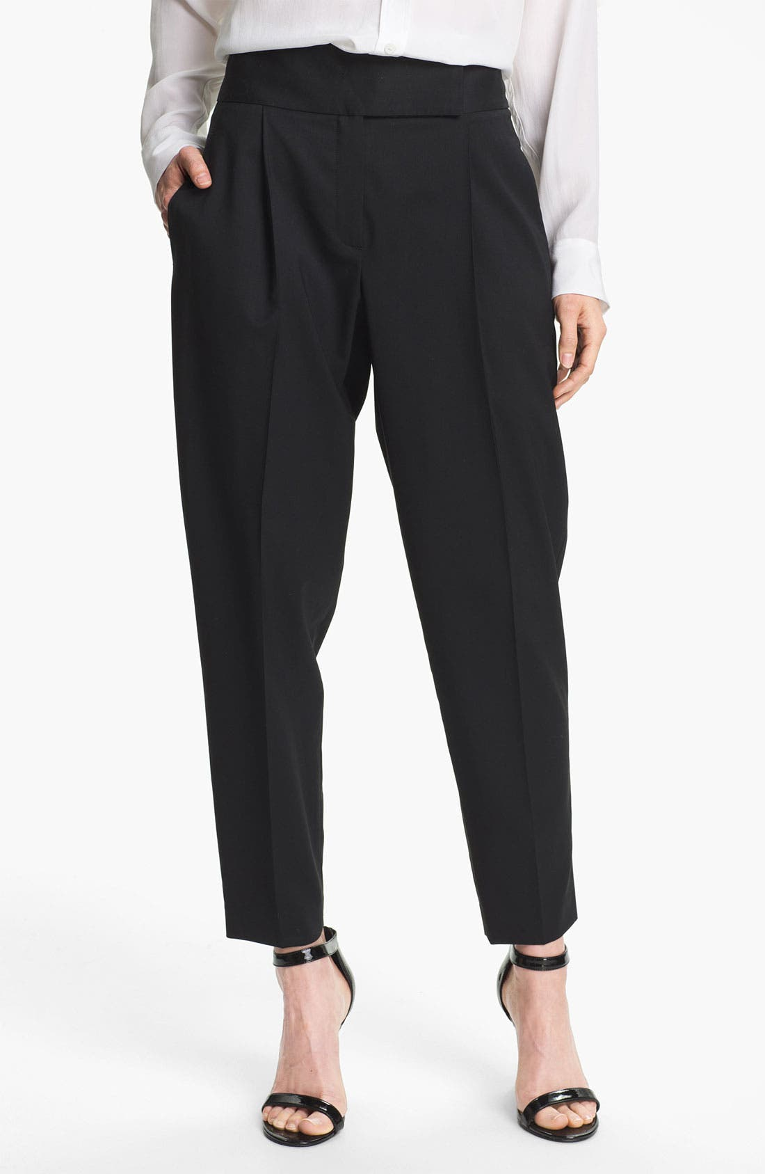 Alternate Image 1 Selected - Theory 'Kina' Wool Trousers