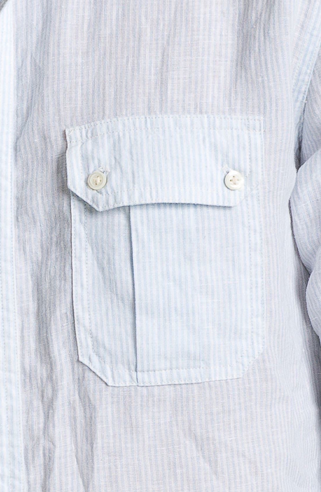 Alternate Image 3  - Vince Regular Fit Linen Sport Shirt
