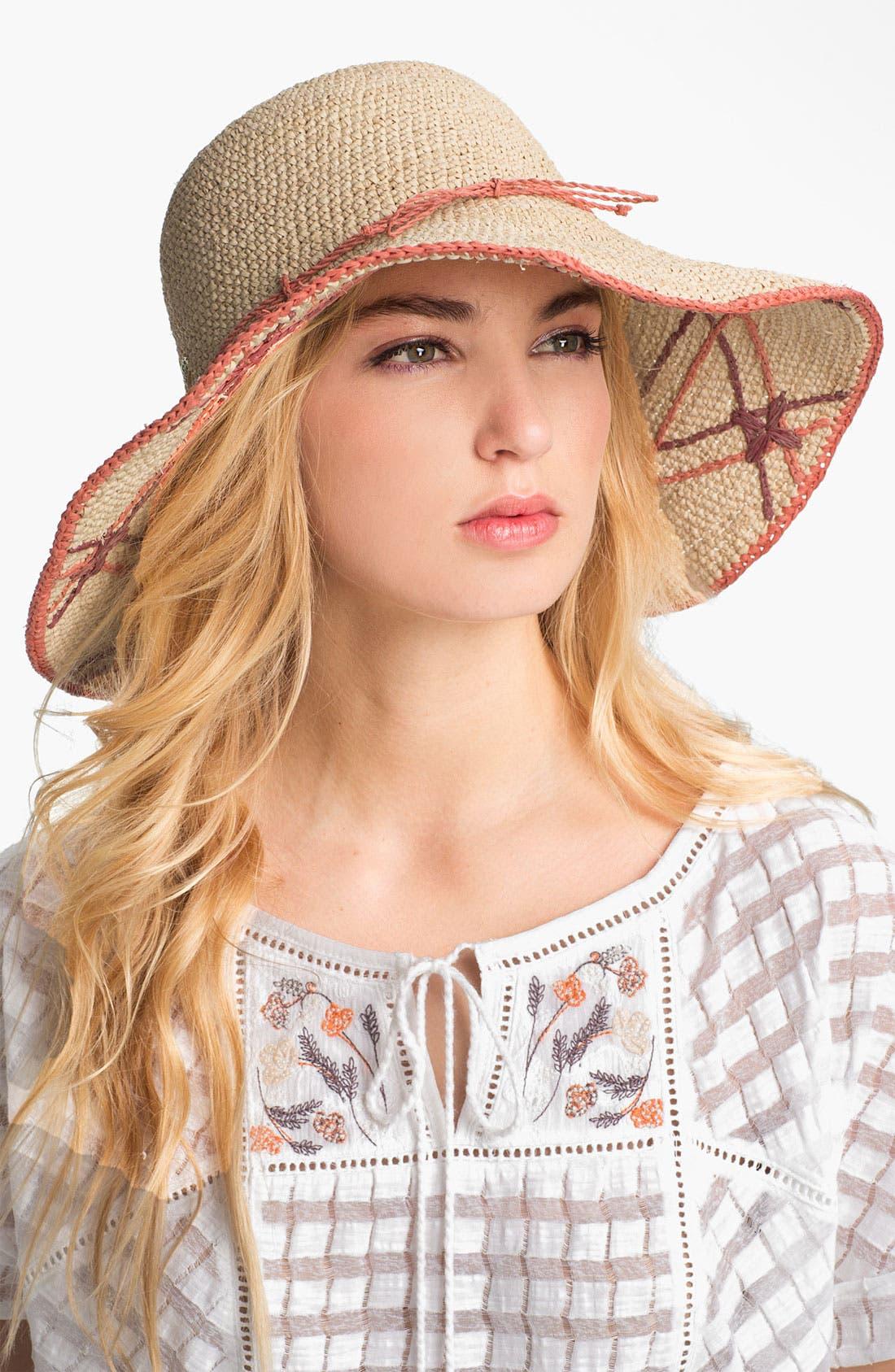 Alternate Image 1 Selected - Helen Kaminski 'Lovells' Angled Wide Brim Hat