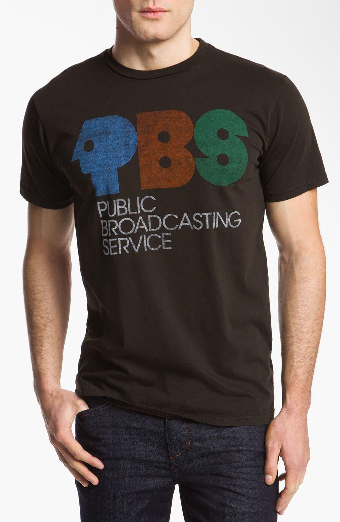 Main Image - PalmerCash 'PBS Vintage Logo' T-Shirt
