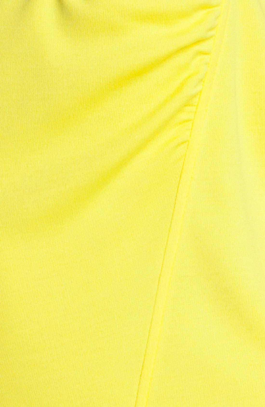 Alternate Image 3  - St. John Collection Cap Sleeve Milano Knit Dress