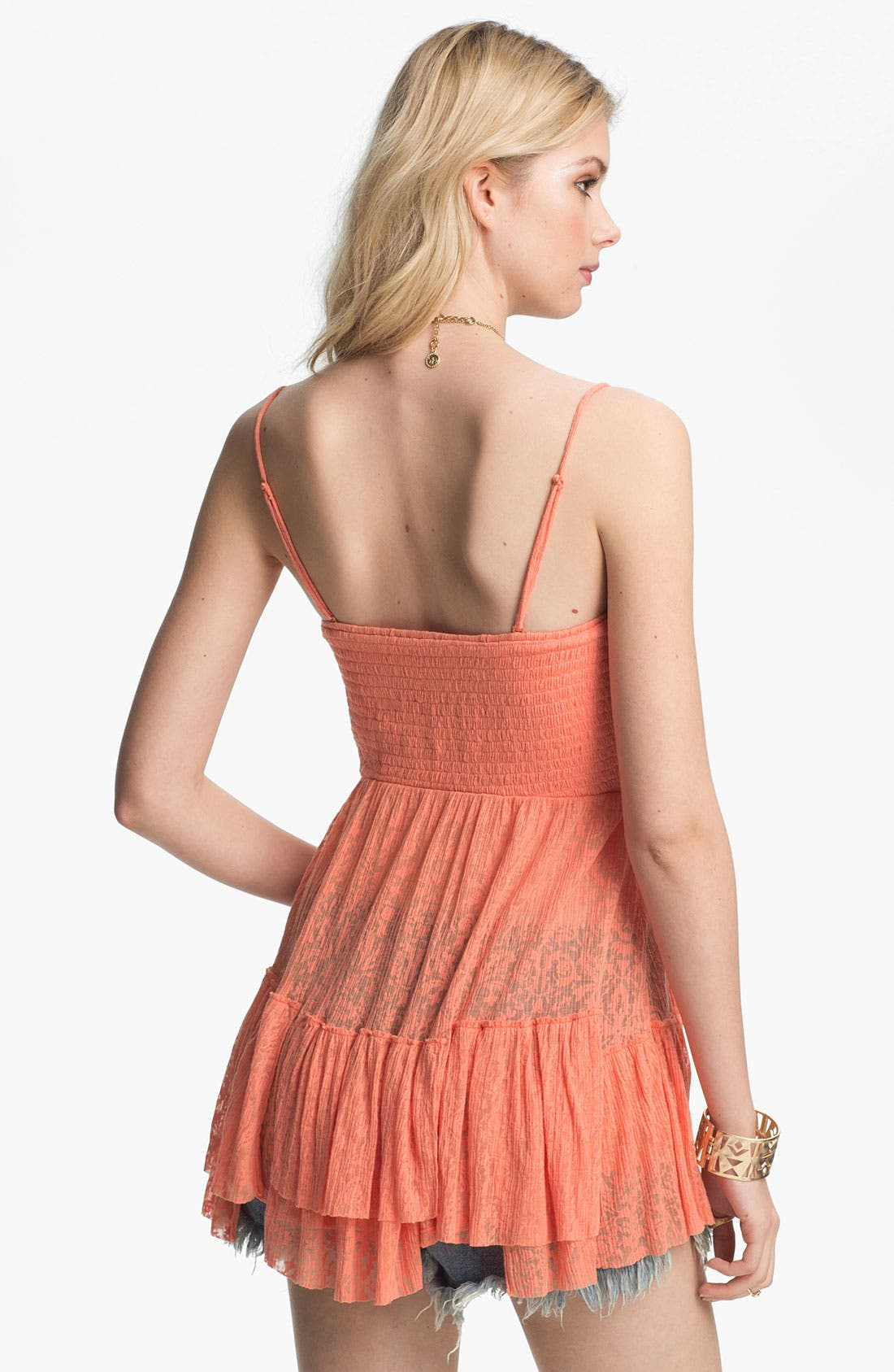 Alternate Image 2  - Free People Smocked Babydoll Camisole