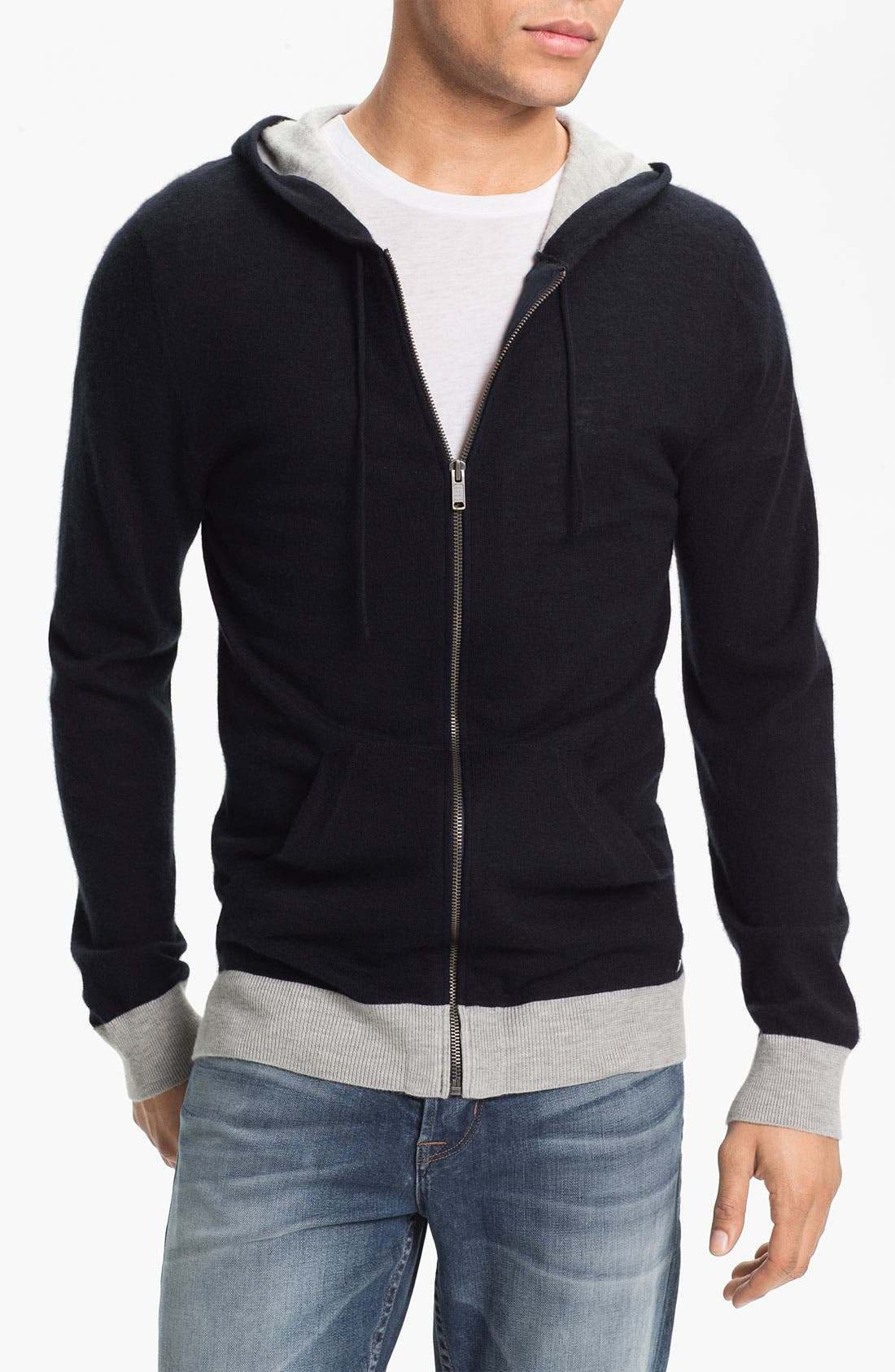 Main Image - MARC BY MARC JACOBS 'Kilmer' Cashmere Knit Hoodie