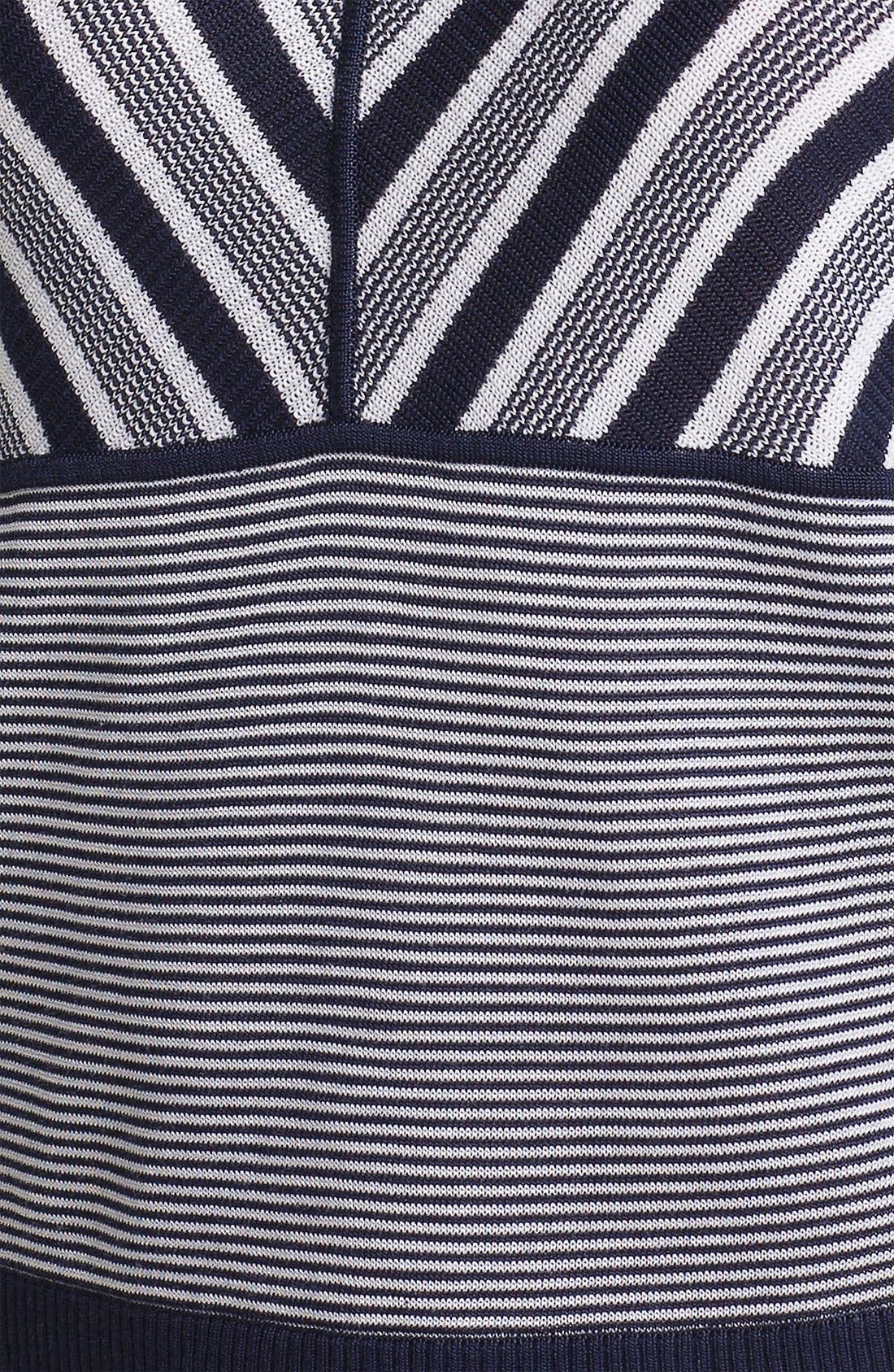 Alternate Image 3  - Anne Klein Mix Stripe Tank