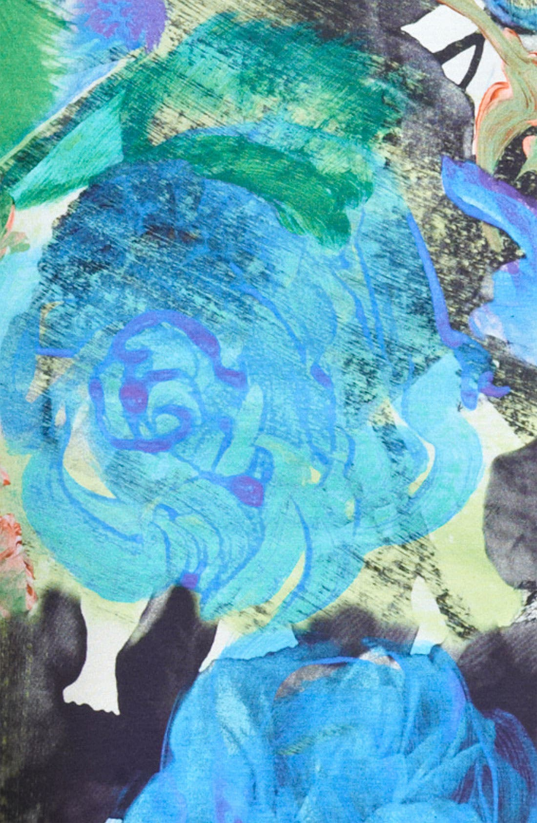 Alternate Image 3  - Christopher Kane Floral Print Jersey Dress