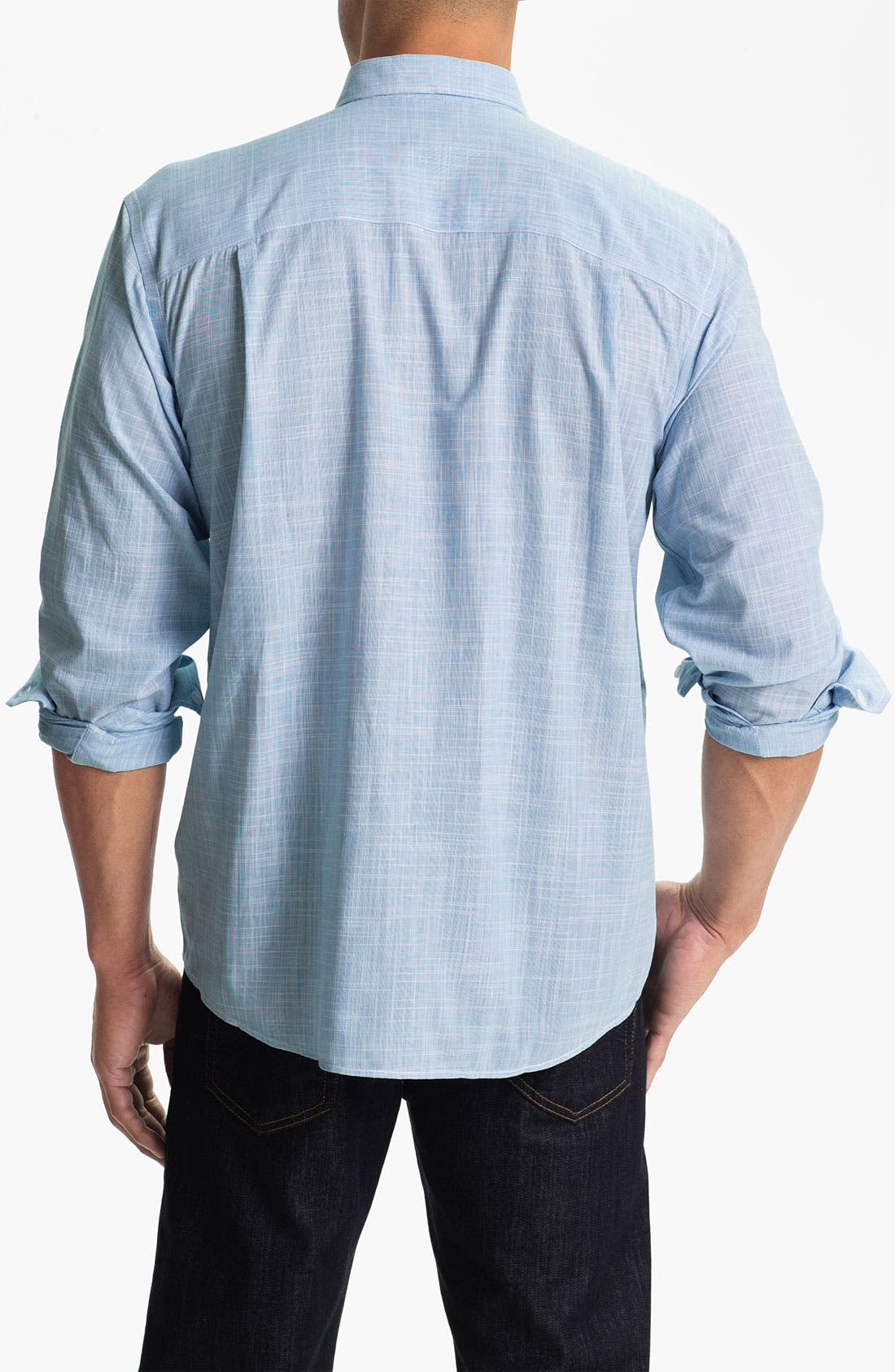 Alternate Image 2  - Cutter & Buck 'Blue Ridge Solid' Regular Fit Sport Shirt (Online Only)