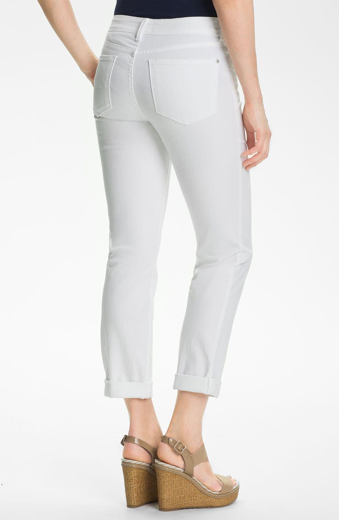 Alternate Image 3  - NYDJ 'Tanya' Stretch Boyfriend Jeans