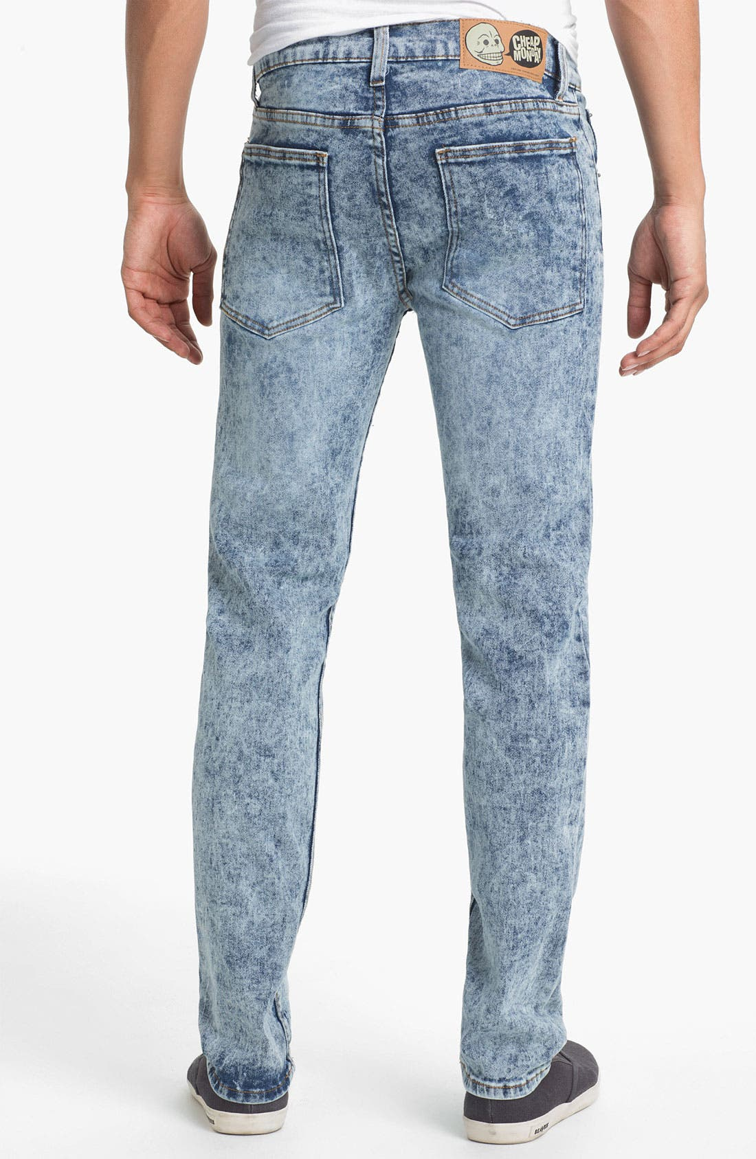 Alternate Image 1 Selected - Cheap Monday Tight Skinny Leg Jeans (Skin Used)