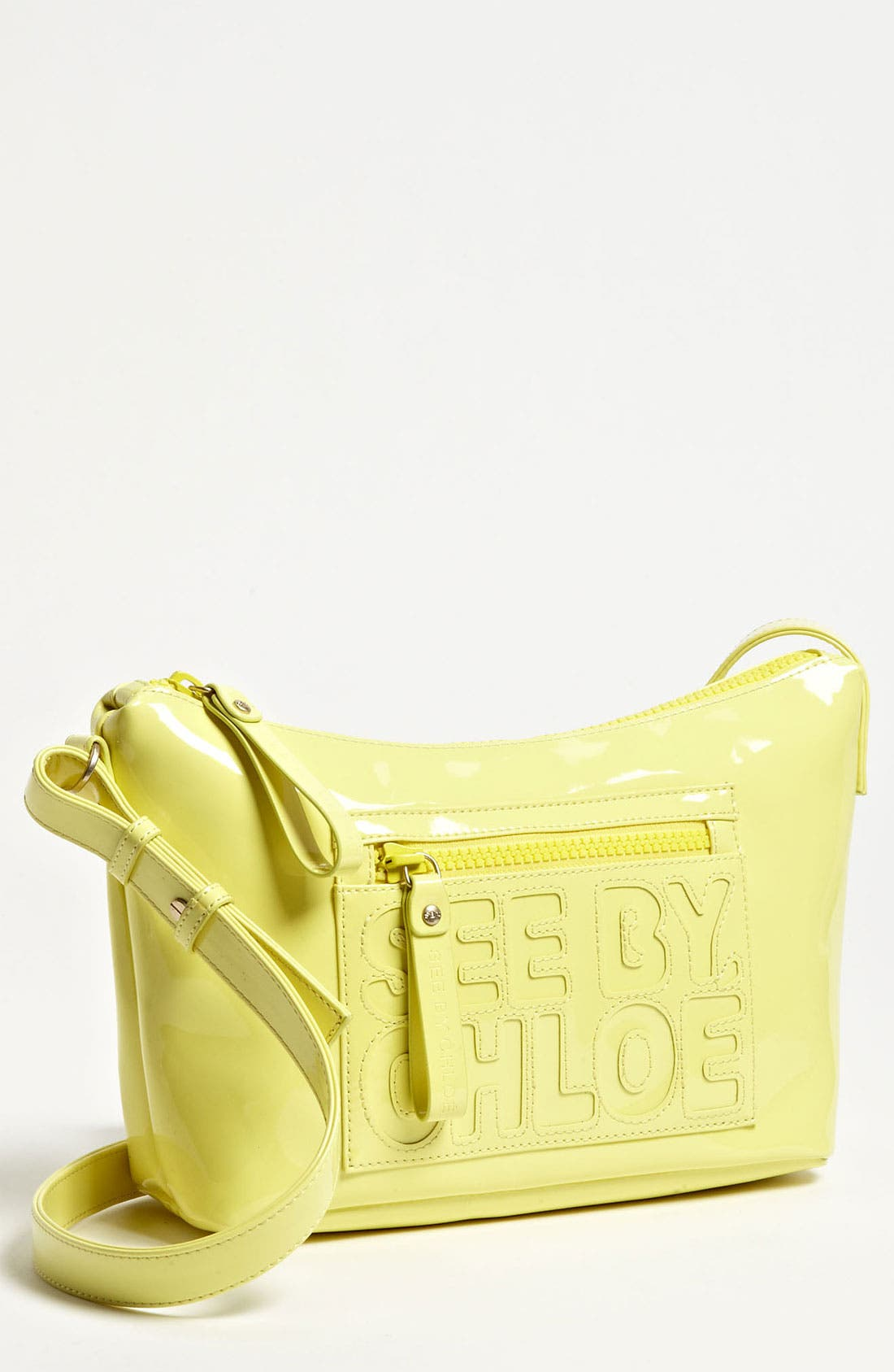 Alternate Image 1 Selected - See by Chloé 'Zip File' Crossbody Bag