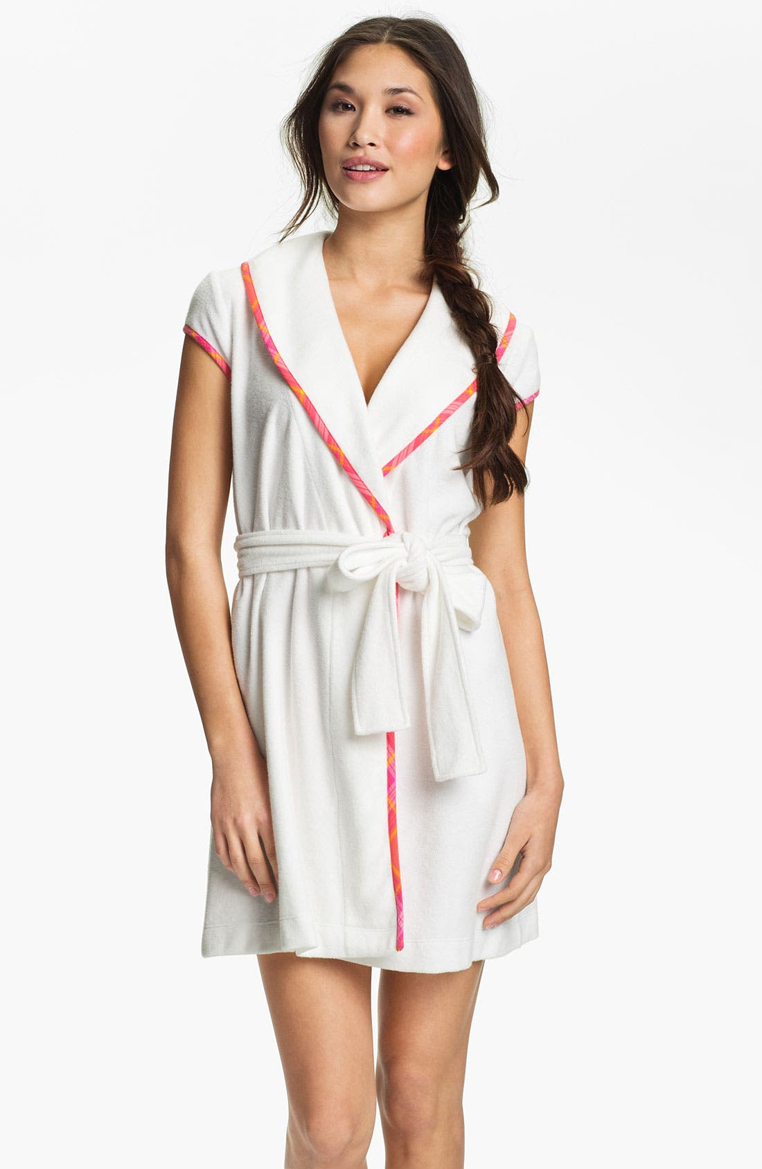 Alternate Image 1 Selected - Betsey Johnson Baby Terry Robe