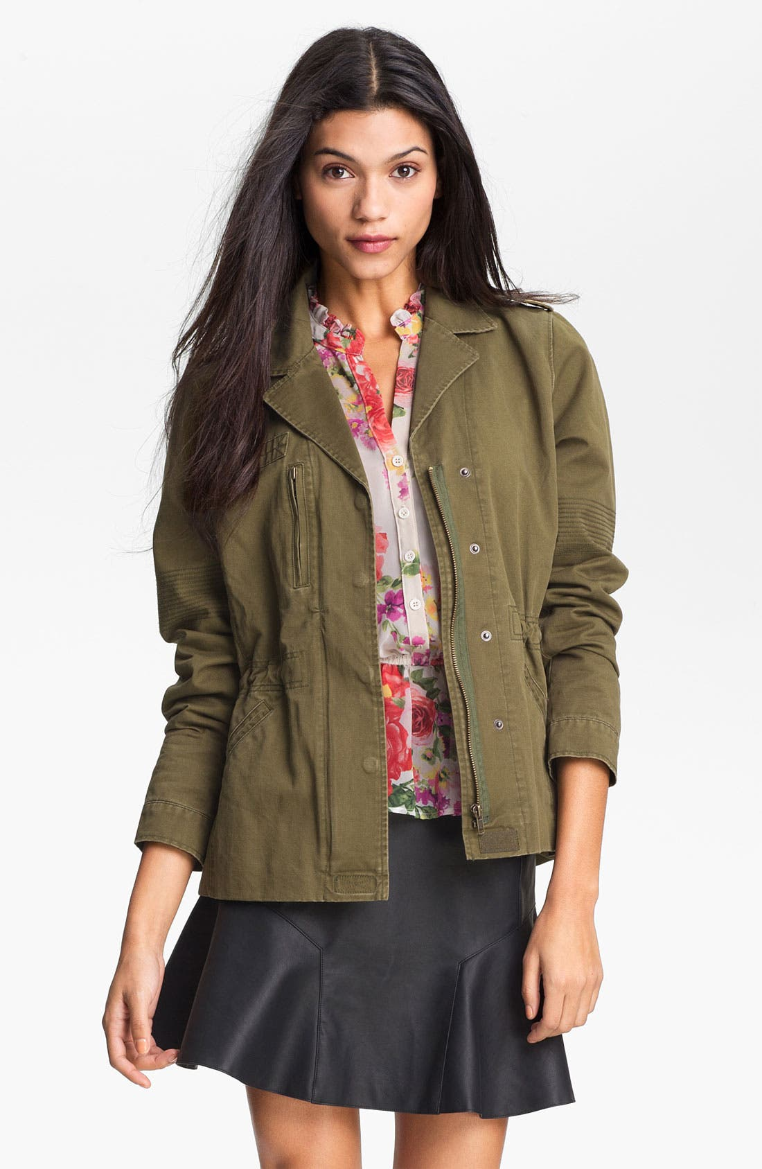 Alternate Image 1 Selected - Gibson Military Jacket