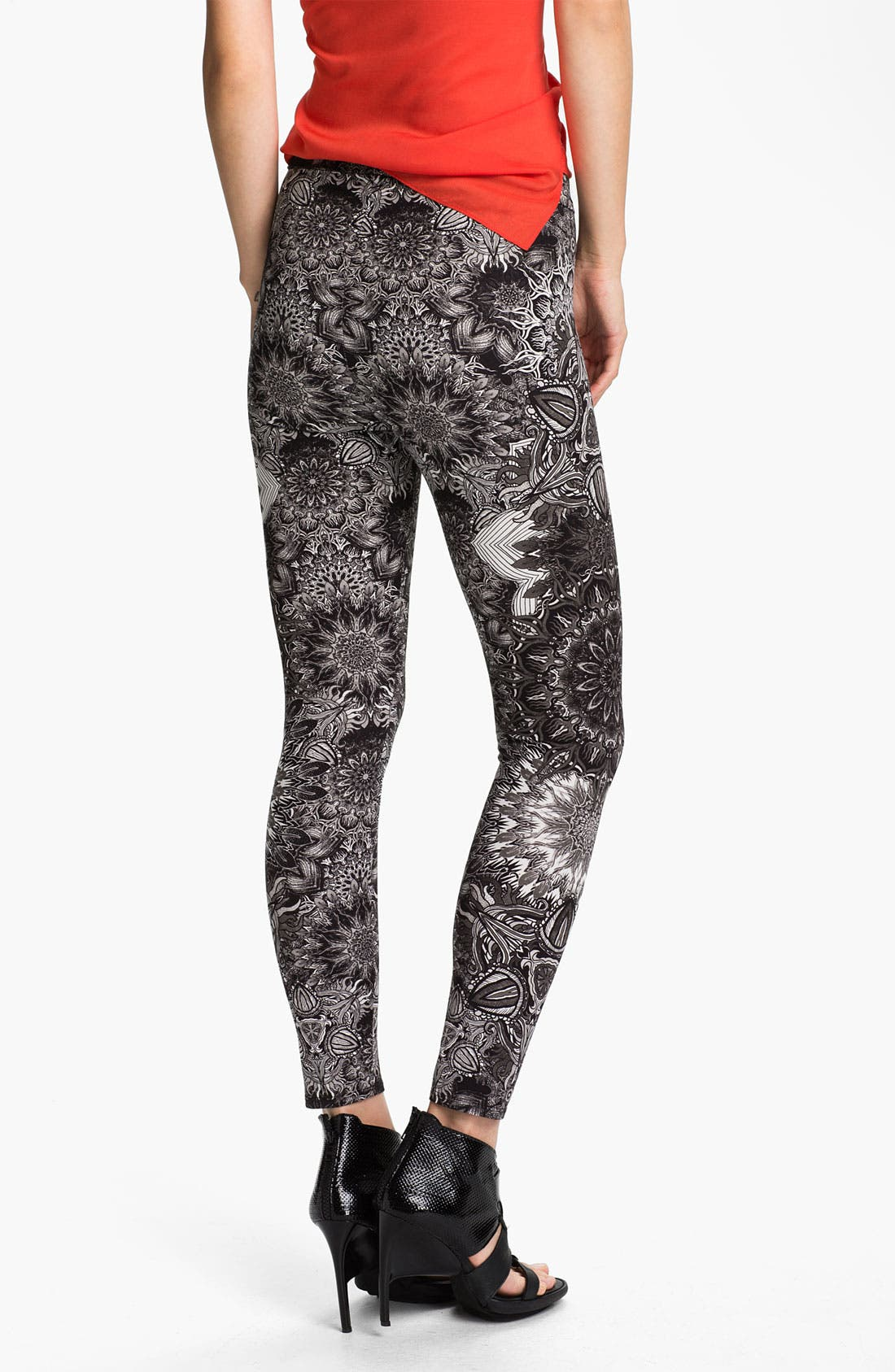 Alternate Image 2  - Helmut Lang Medallion Print Leggings