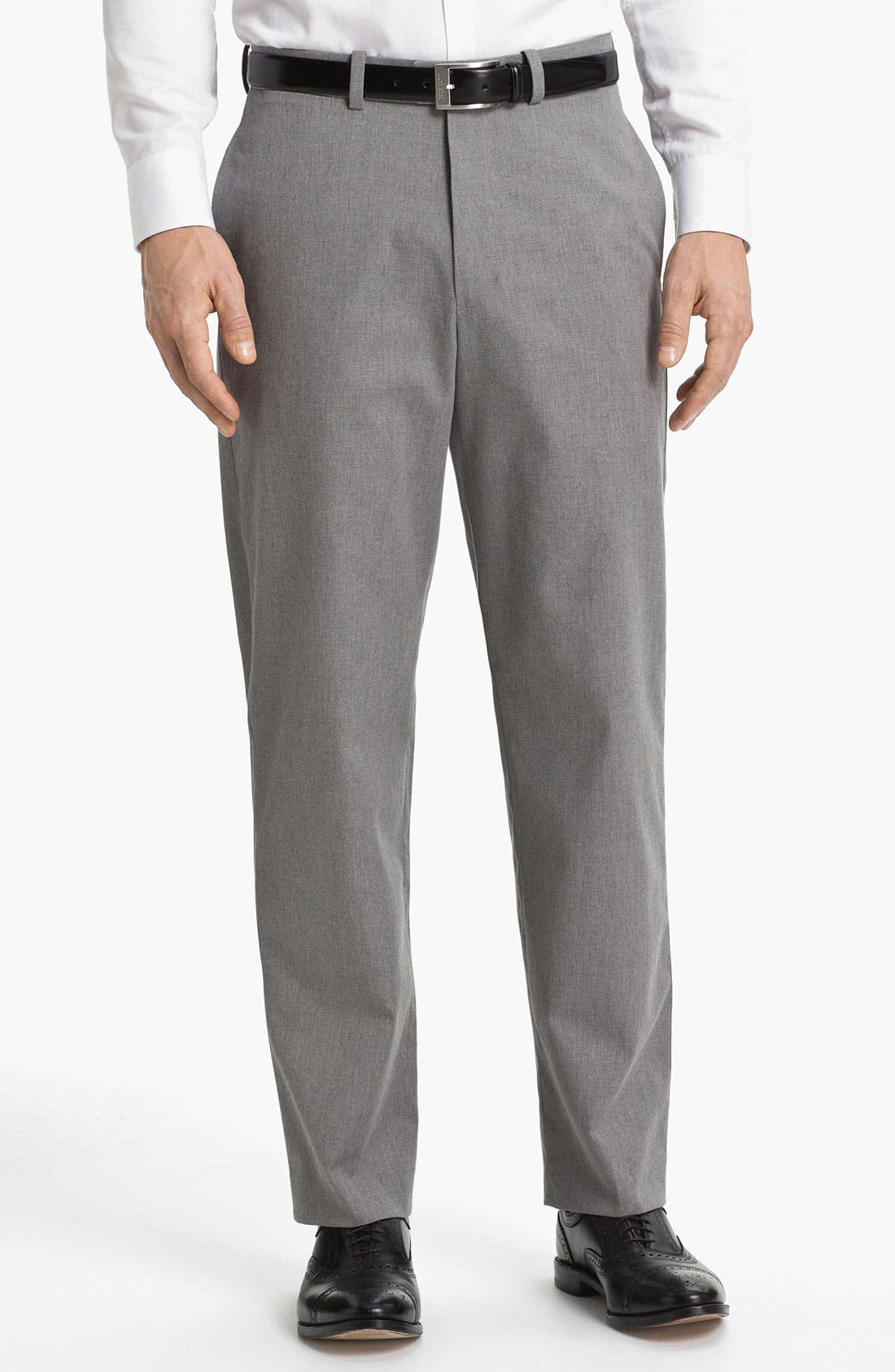 Alternate Image 1 Selected - John W. Nordstrom® Mélange Supima® Cotton Pants