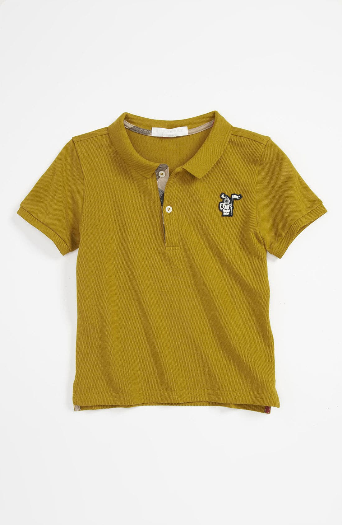 Main Image - Burberry 'Palmer' Polo (Baby)