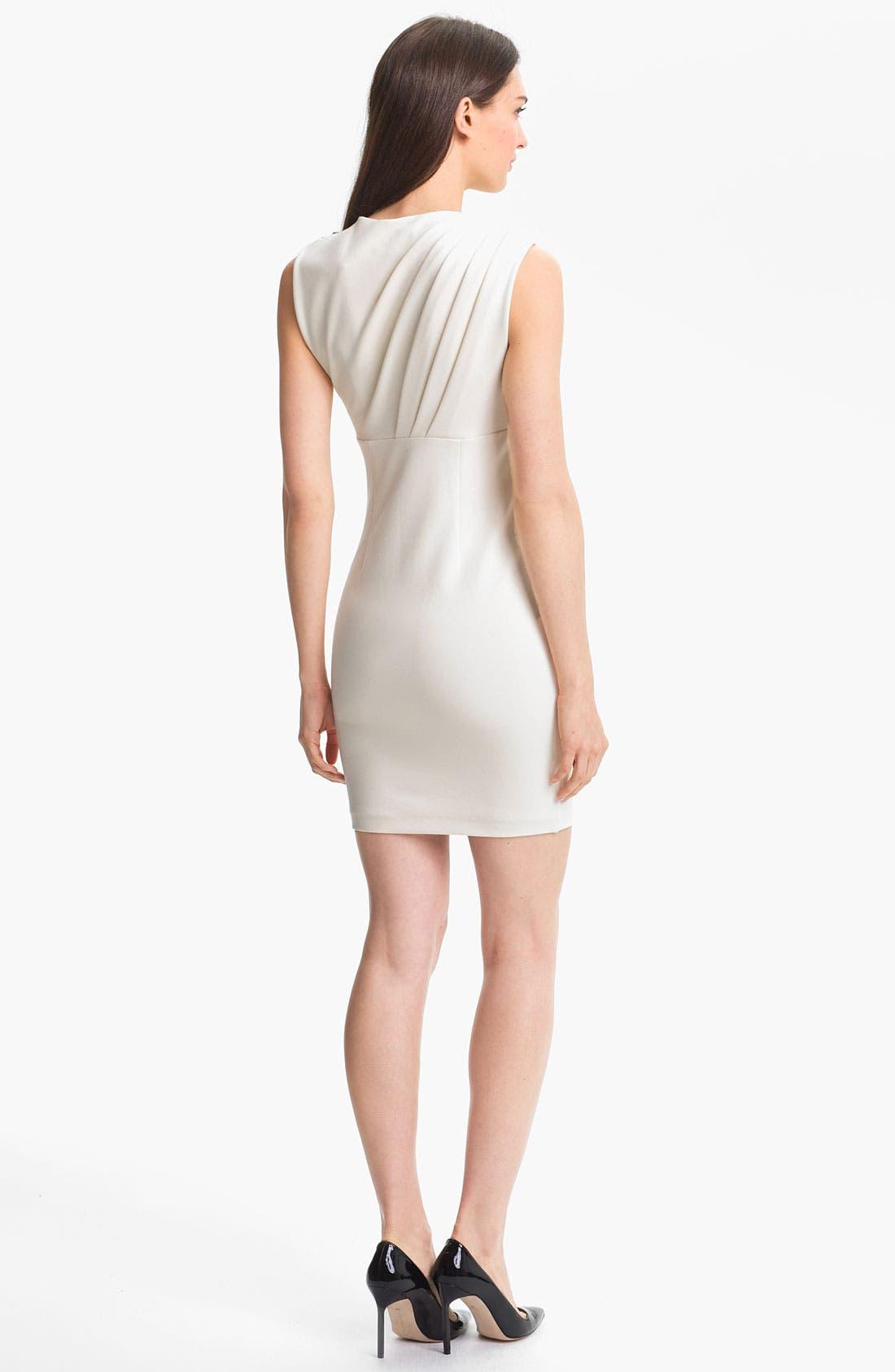 Alternate Image 2  - Ted Baker London Stretch Sheath Dress