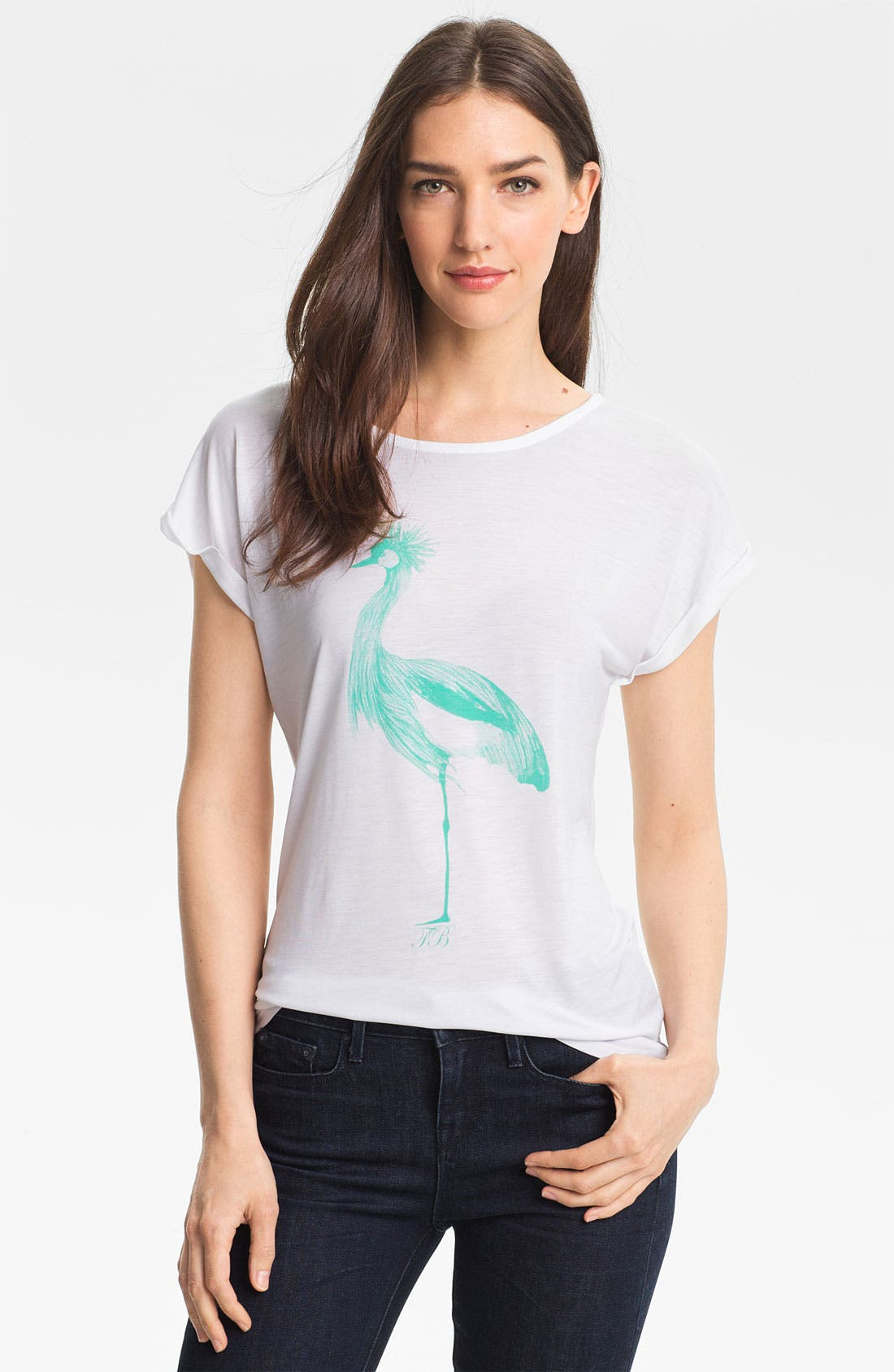 Alternate Image 1 Selected - Ted Baker London Graphic Tee (Online Only)