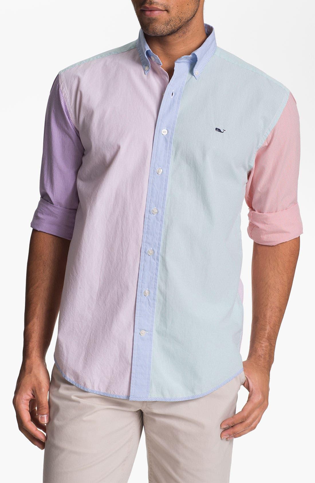 Alternate Image 1 Selected - Vineyard Vines 'Party Antigua' Regular Fit Sport Shirt