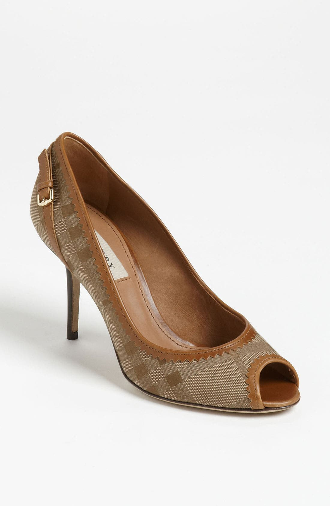 Alternate Image 1 Selected - Burberry 'Allalline' Pump