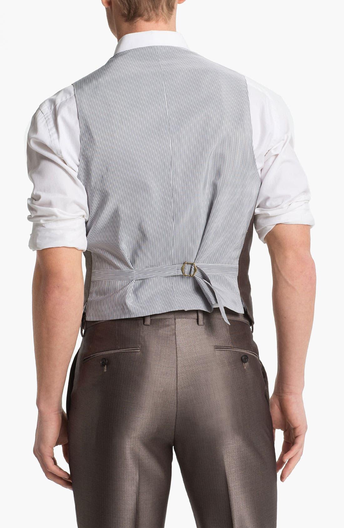 Alternate Image 2  - John Varvatos Star USA Red Label Vest
