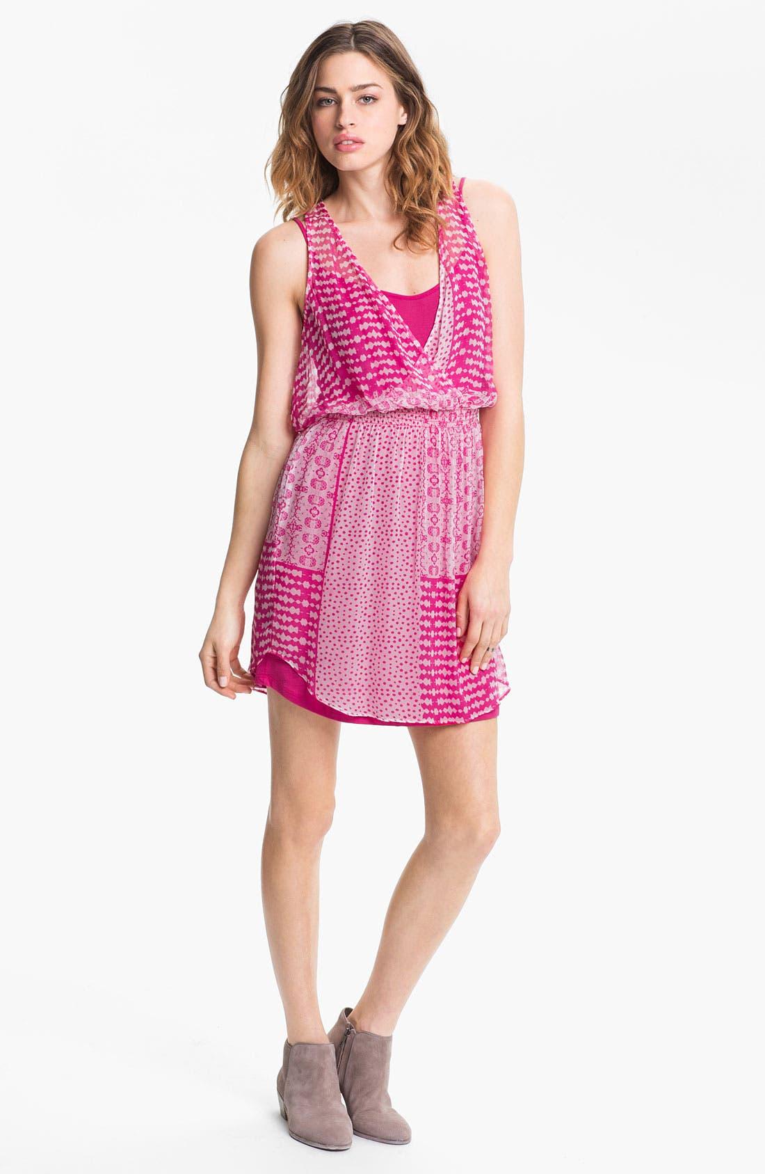 Alternate Image 1 Selected - Ella Moss 'Lexi' Mix Print Dress