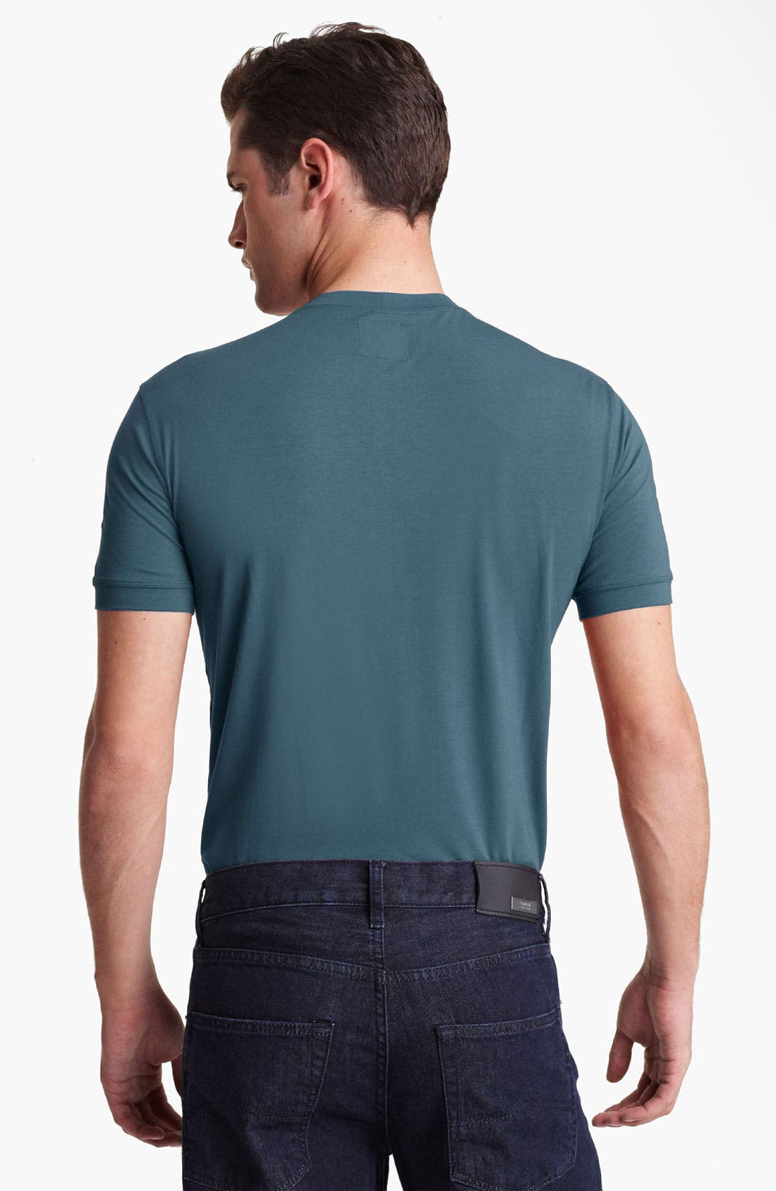 Alternate Image 2  - Armani Collezioni 'Mediterranean' Stretch Crewneck T-Shirt