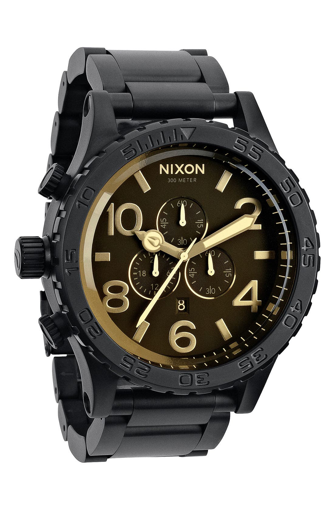 Alternate Image 1 Selected - Nixon 'The 51-30 Chrono' Watch, 51mm