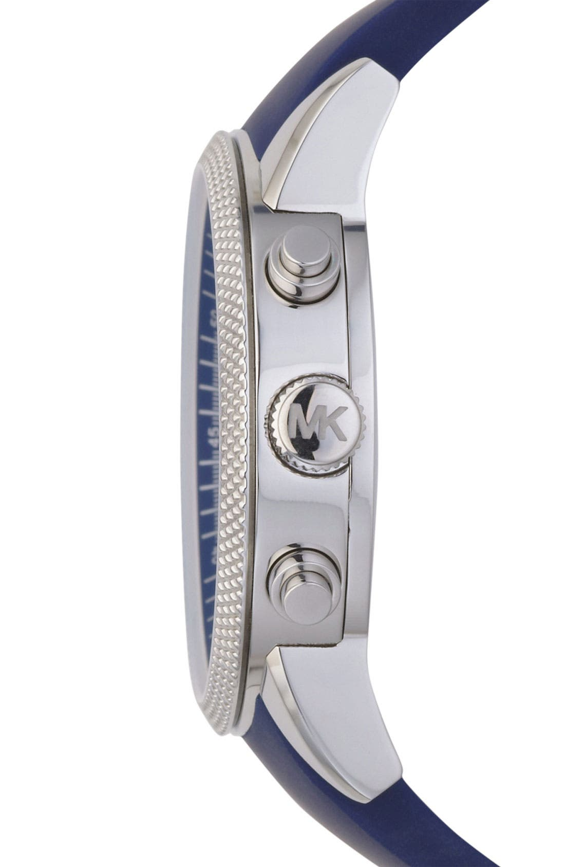 Alternate Image 3  - Michael Kors 'Scout' Chronograph Silicone Strap Watch, 43mm