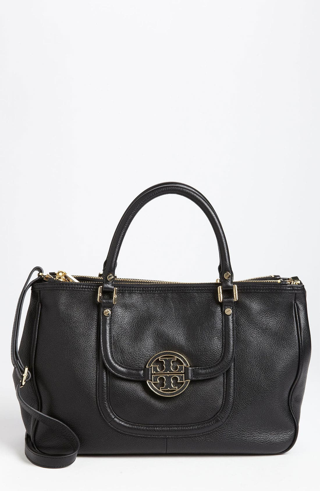Alternate Image 1 Selected - Tory Burch 'Amanda' Double Zip Tote