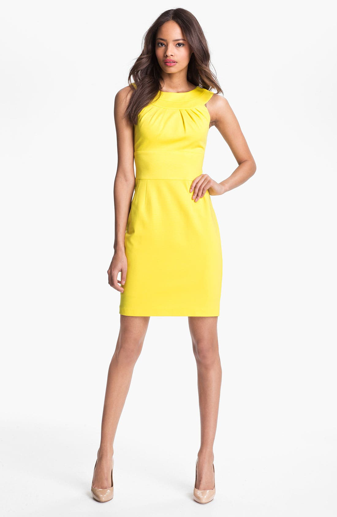 Alternate Image 1  - Trina Turk 'Etiquette' Stretch Sheath Dress