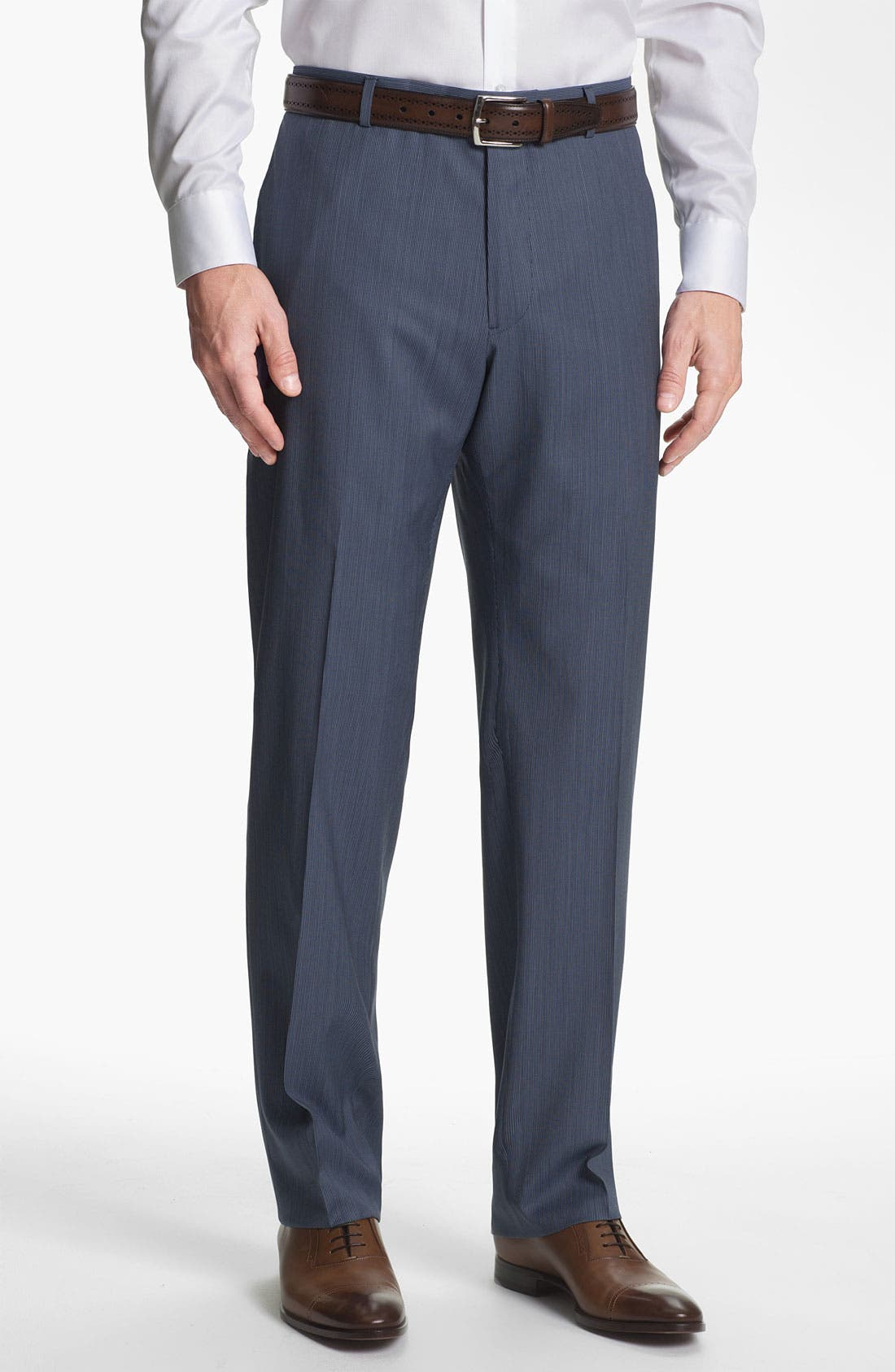 Alternate Image 4  - Joseph Abboud 'Profile' Trim Fit Stripe Wool Suit