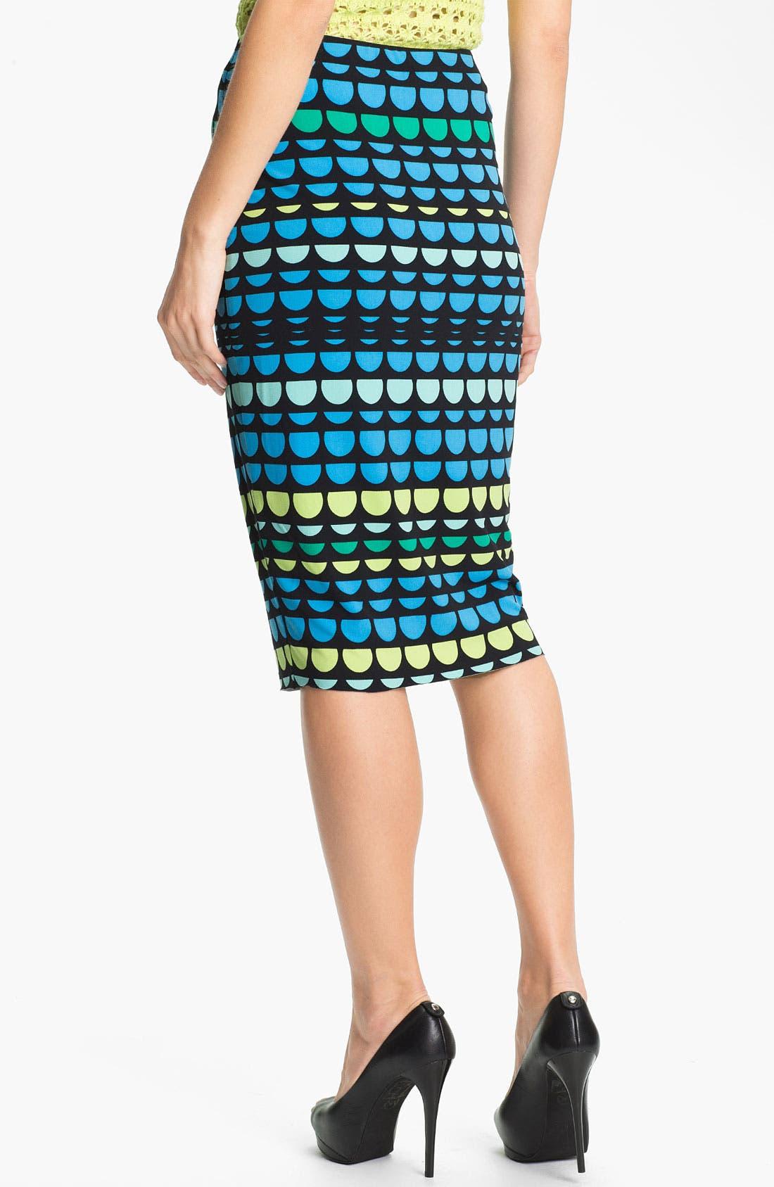 Alternate Image 2  - Vince Camuto Midi Tube Skirt