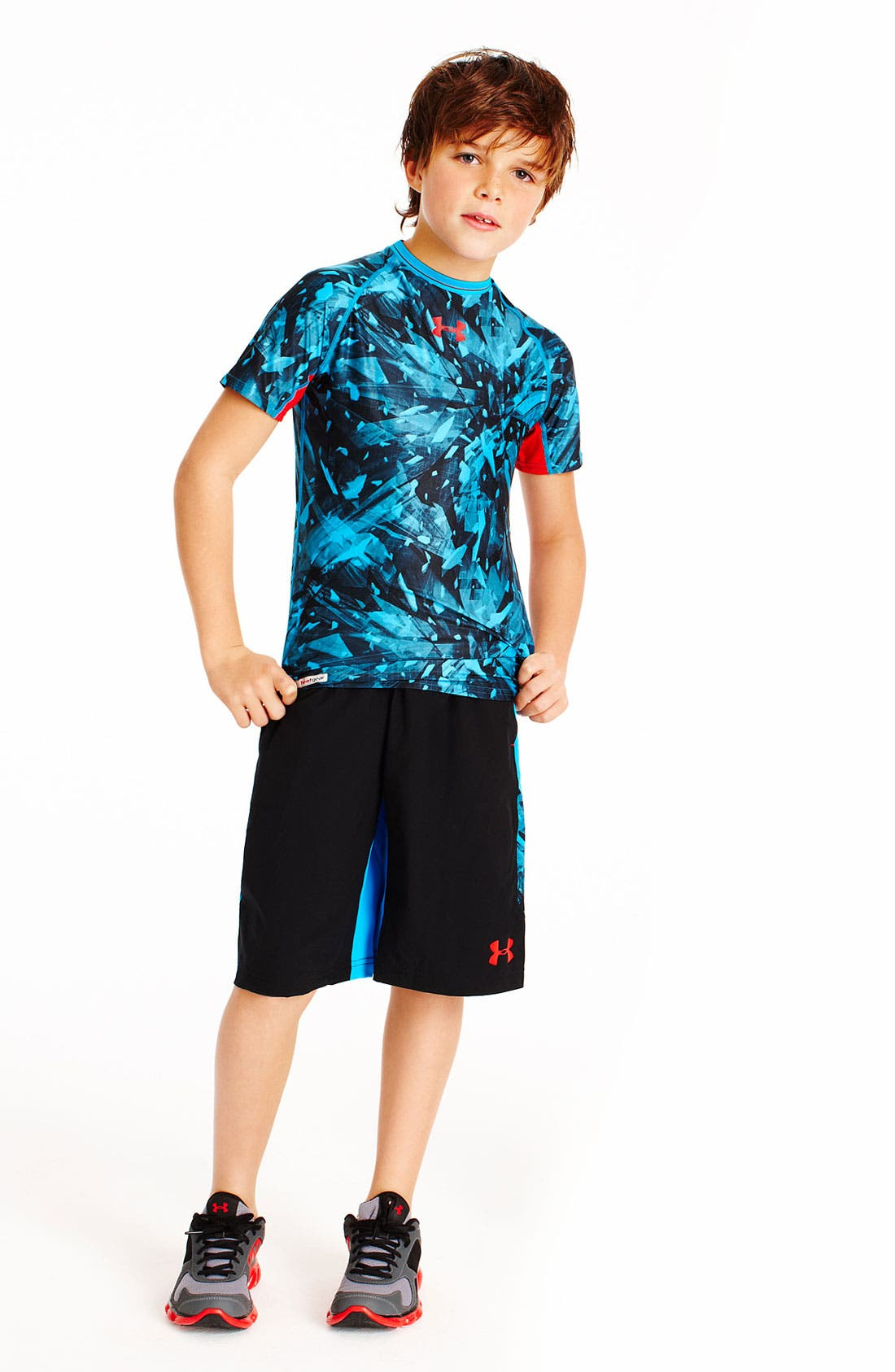 Alternate Image 1 Selected - Under Armour T-Shirt & Shorts