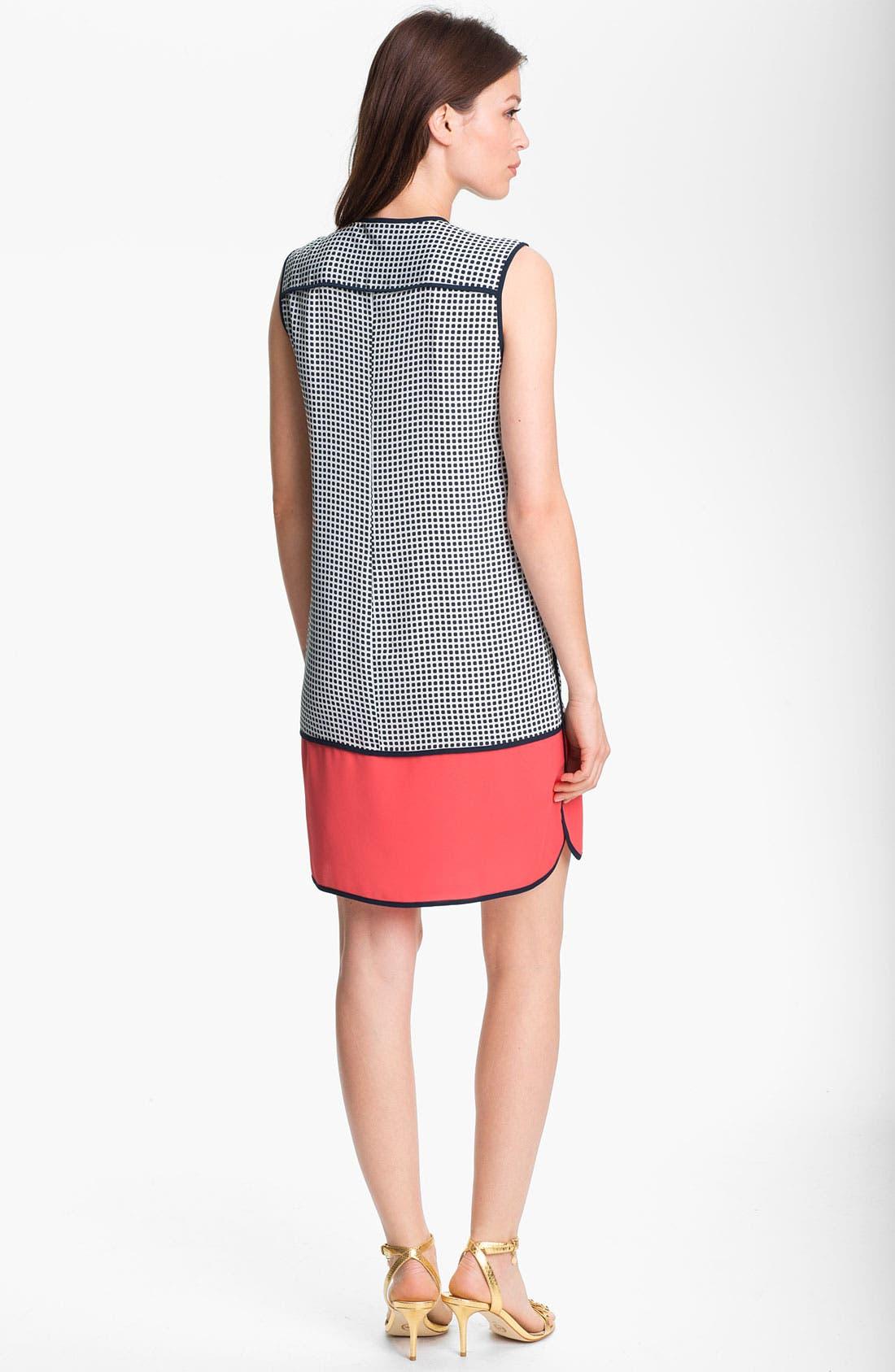 Alternate Image 2  - Adrianna Papell Colorblock Shift Dress