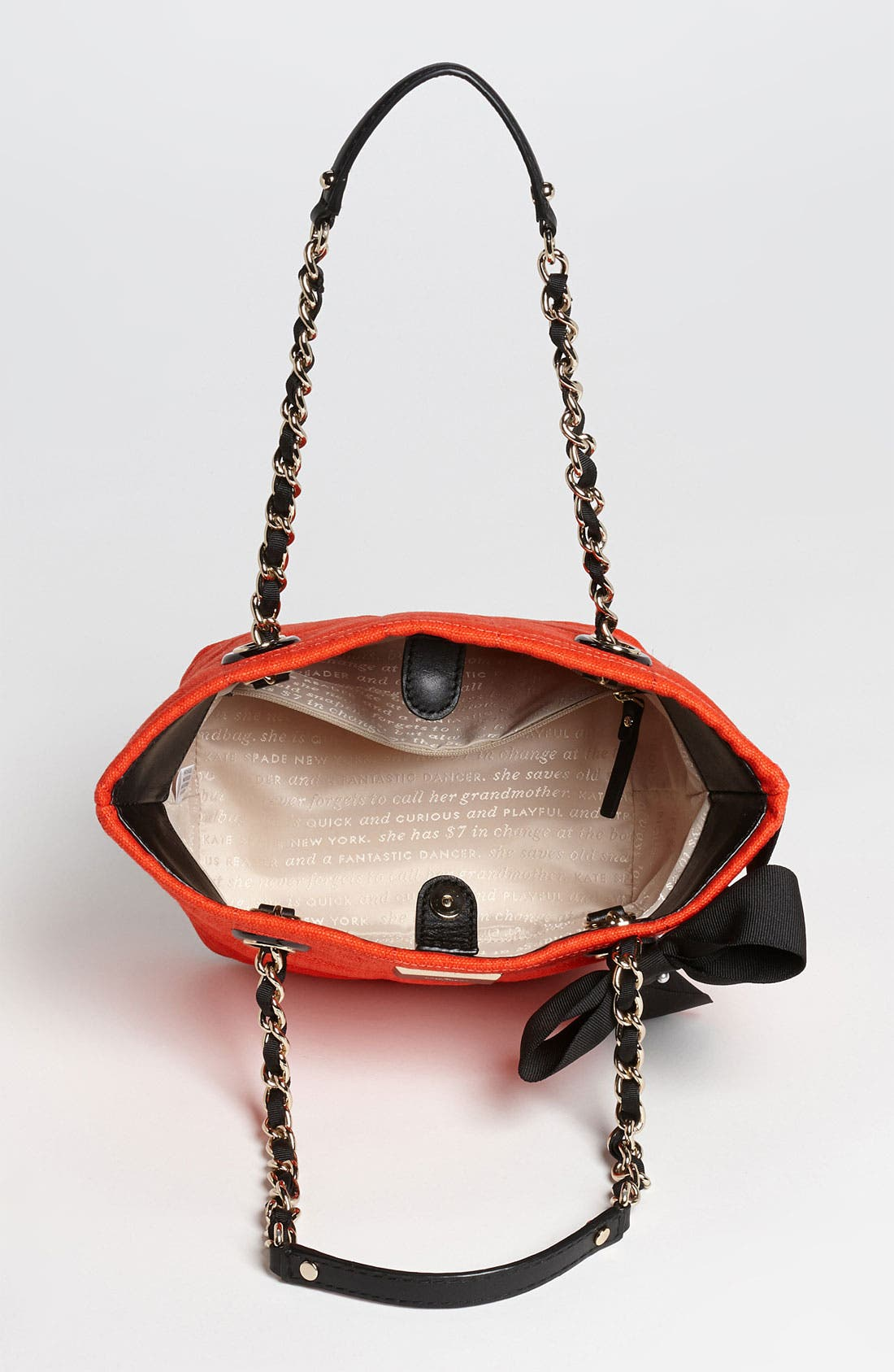 Alternate Image 3  - kate spade new york 'signature spade - mini coal' shoulder bag