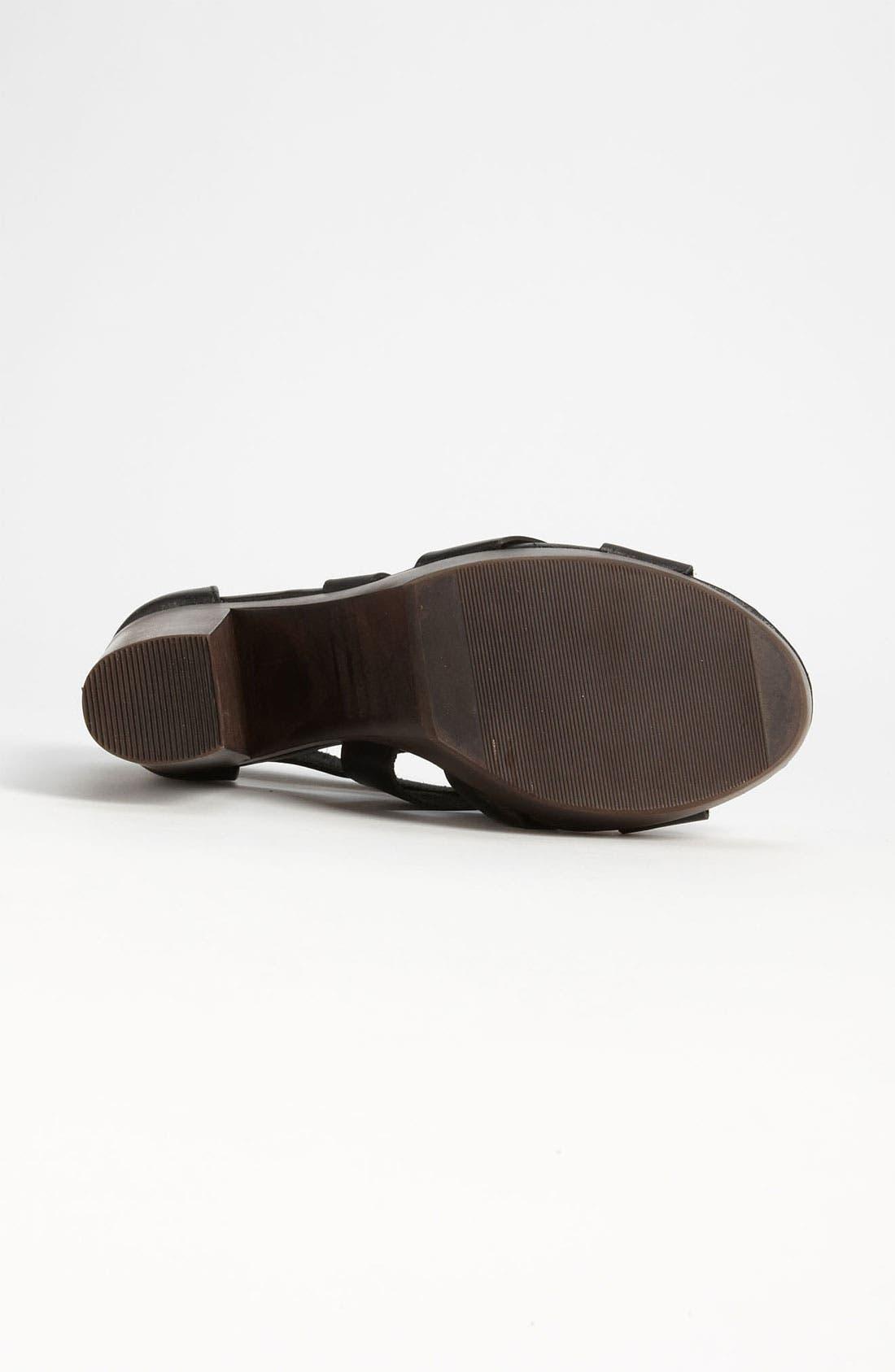 Alternate Image 4  - Topshop 'Right-Wood' Sandal