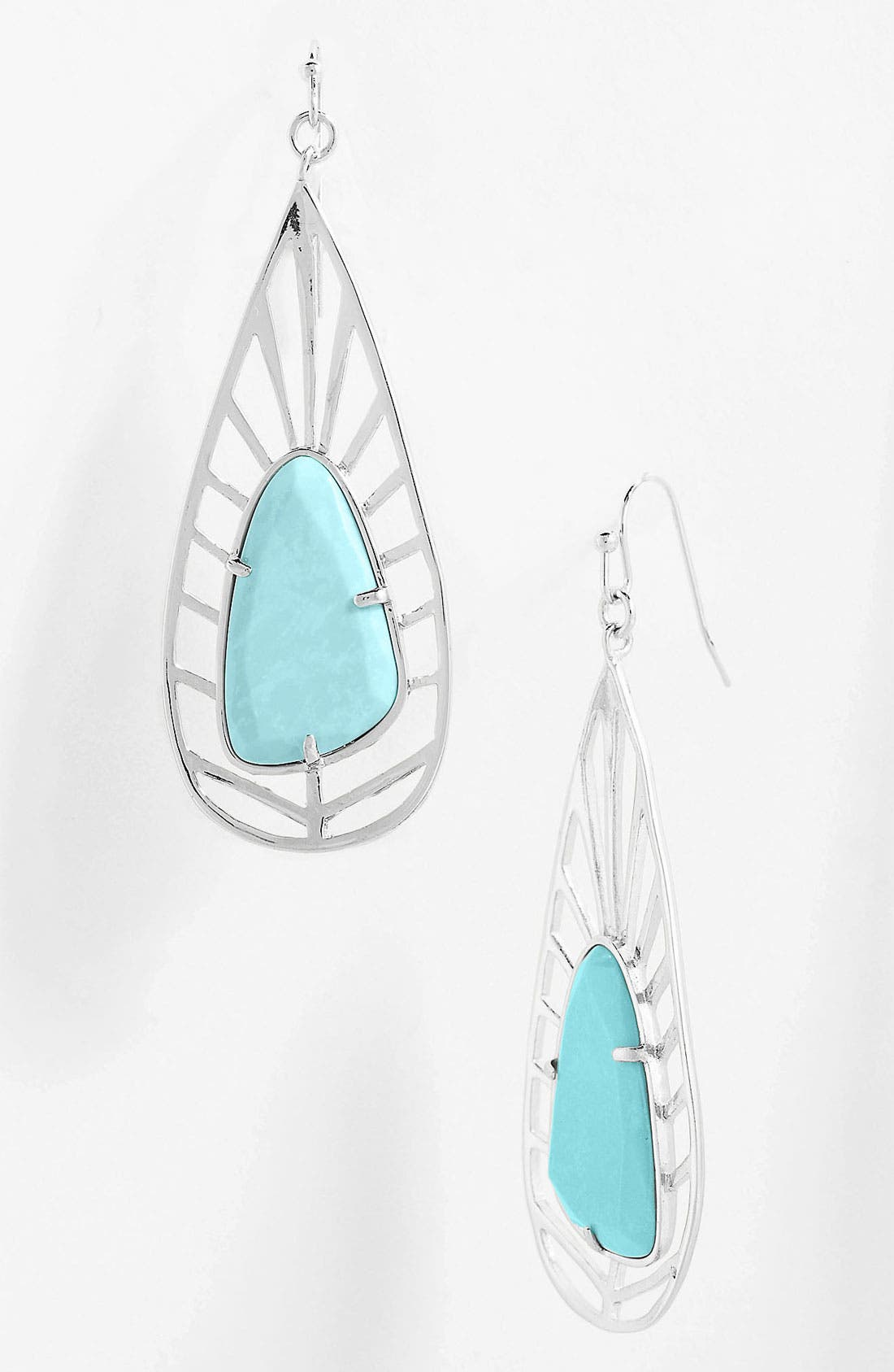 Alternate Image 1 Selected - Kendra Scott 'Lyra' Teardrop Earrings