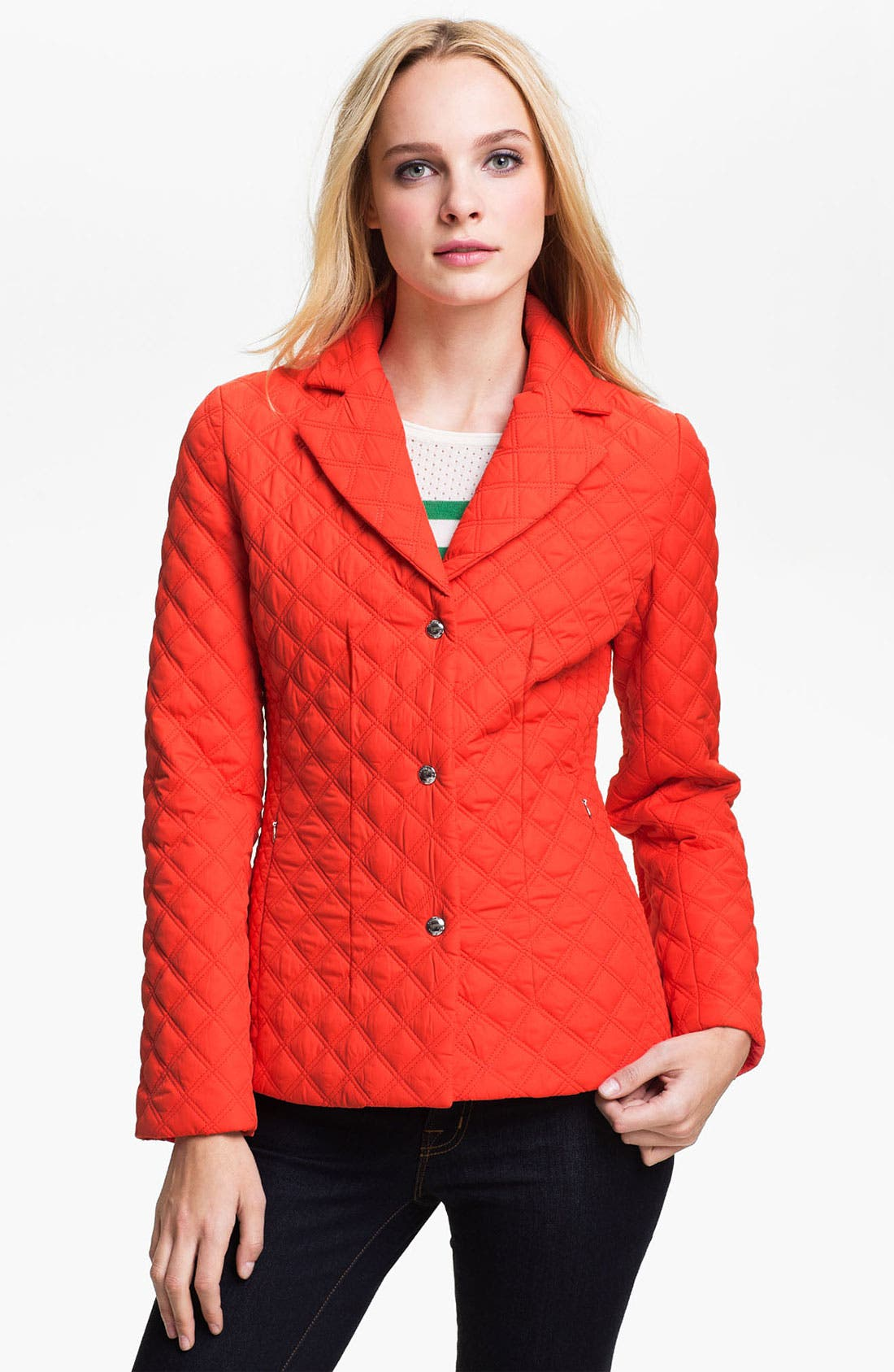Alternate Image 1 Selected - Calvin Klein Quilted Jacket