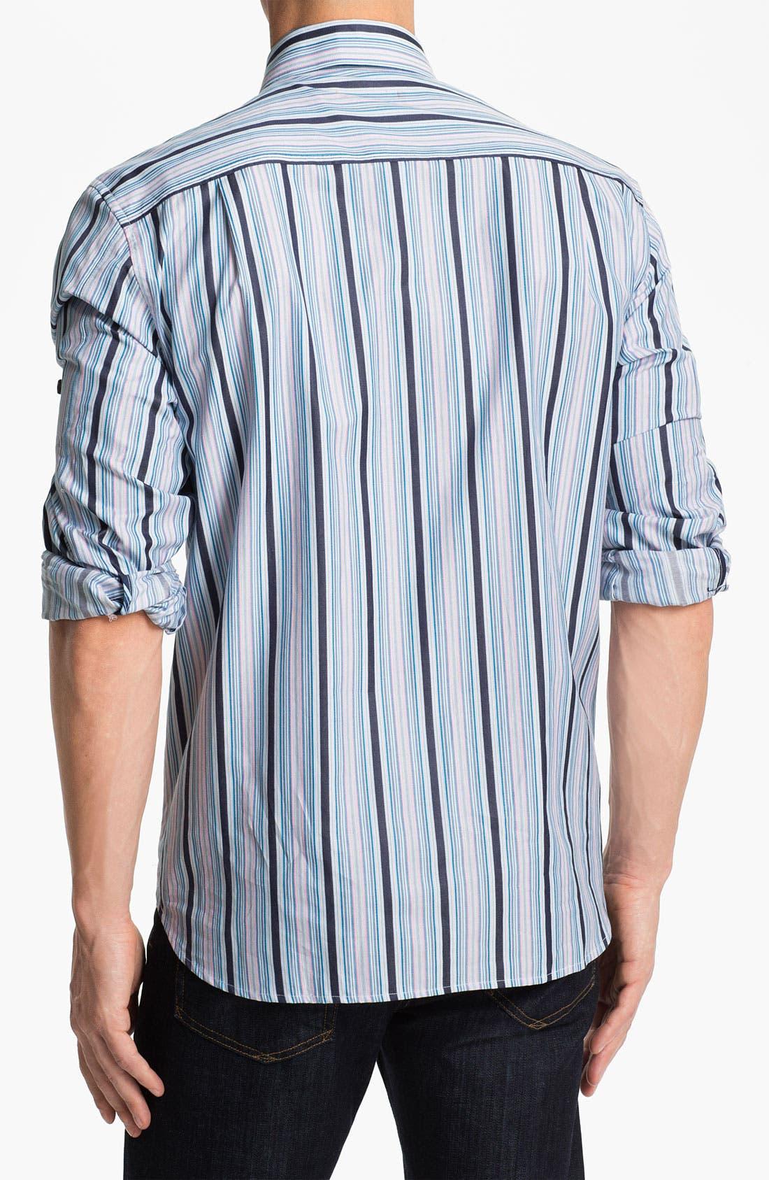 Alternate Image 2  - Tommy Bahama 'Stripe del Sol' Sport Shirt