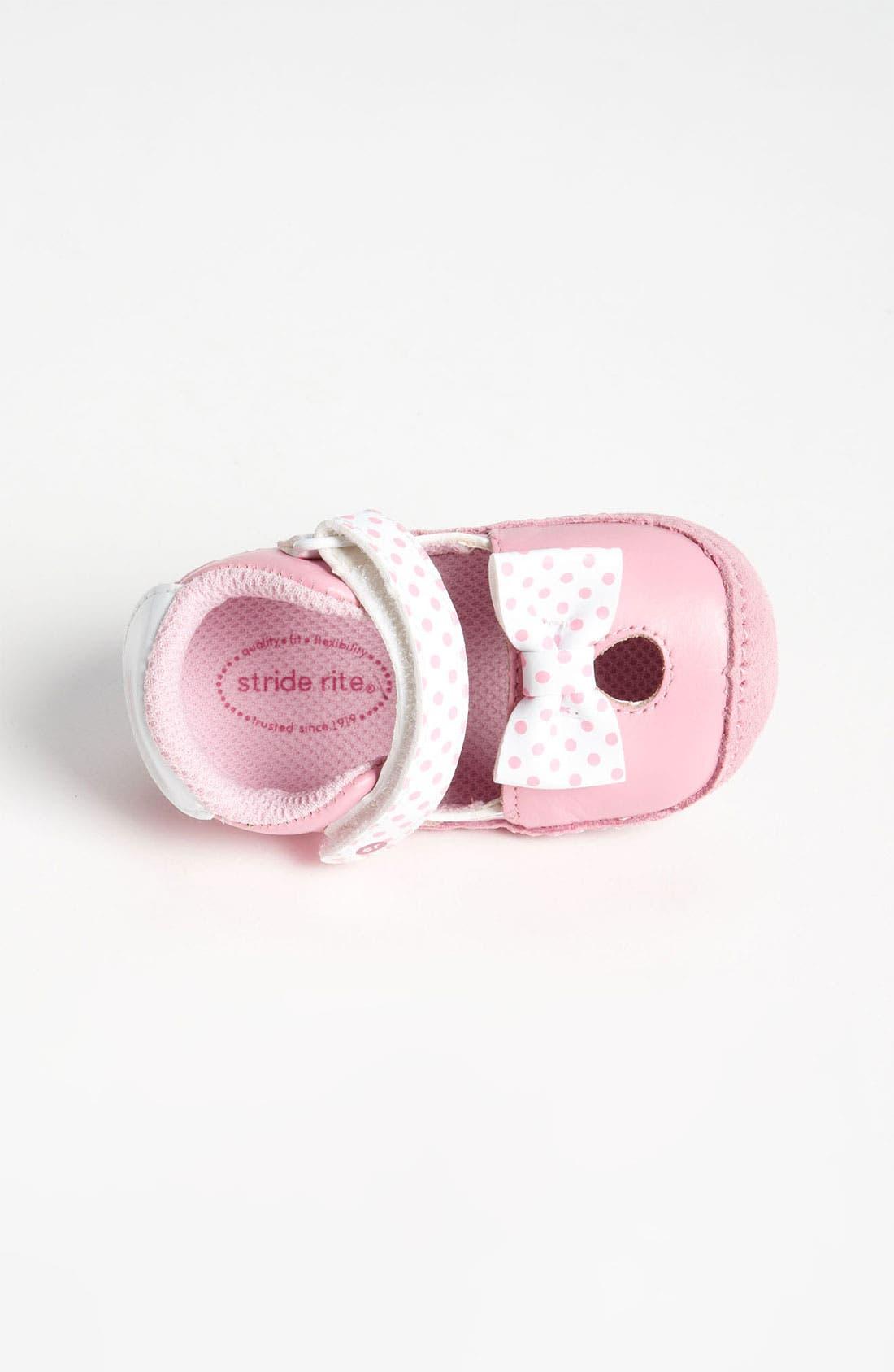 Alternate Image 3  - Stride Rite 'Crawl - Minnie Mouse®' Slip-On (Baby)