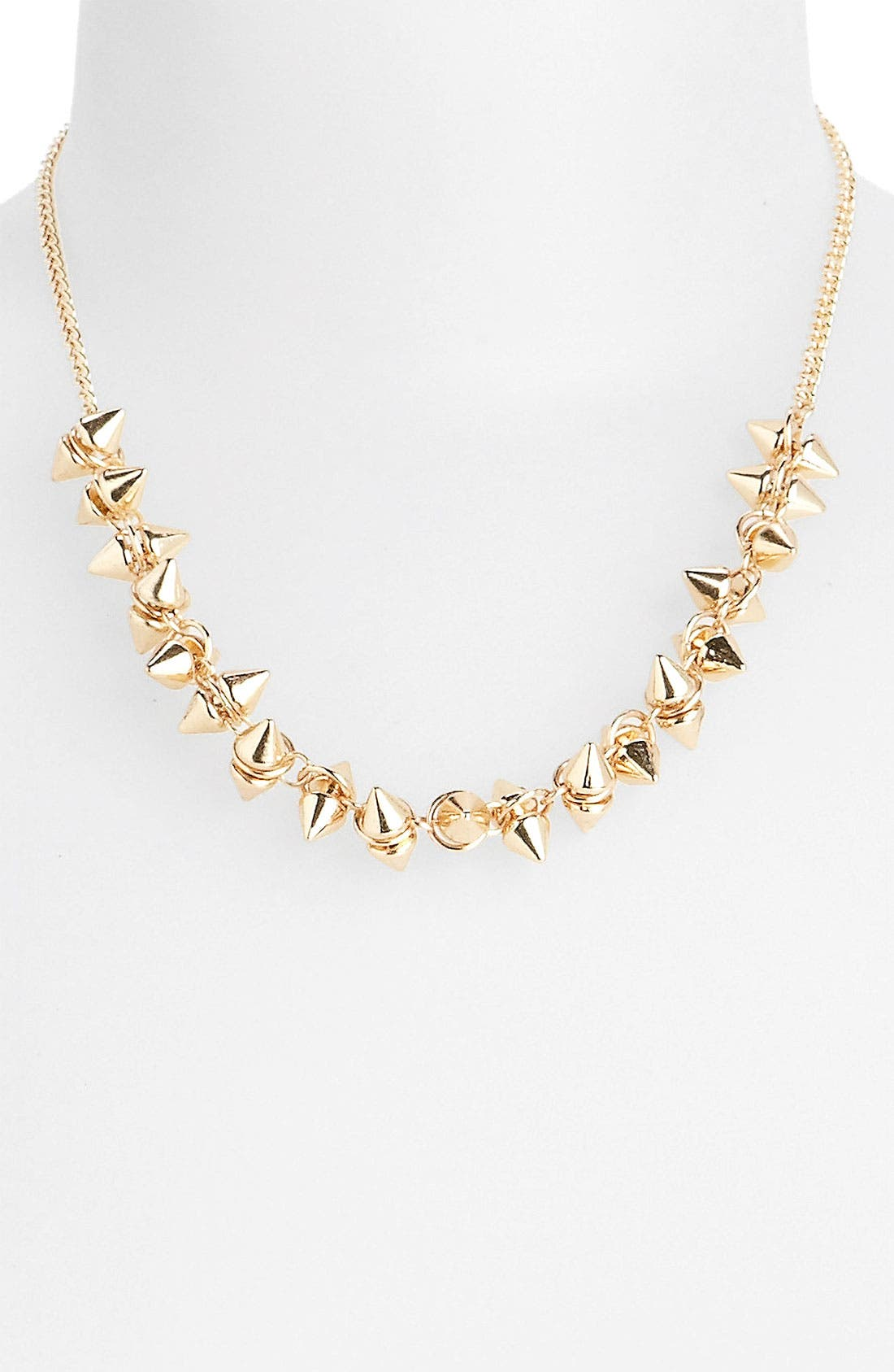 Main Image - Statements by DCK Spike Stud Necklace