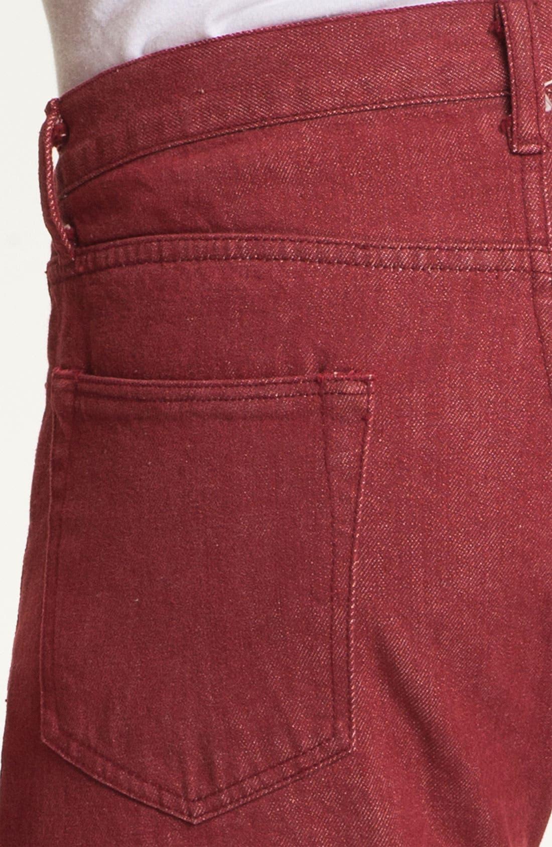 Alternate Image 4  - J. Press York Street 'Hanover' Slim Fit Selvedge Jeans