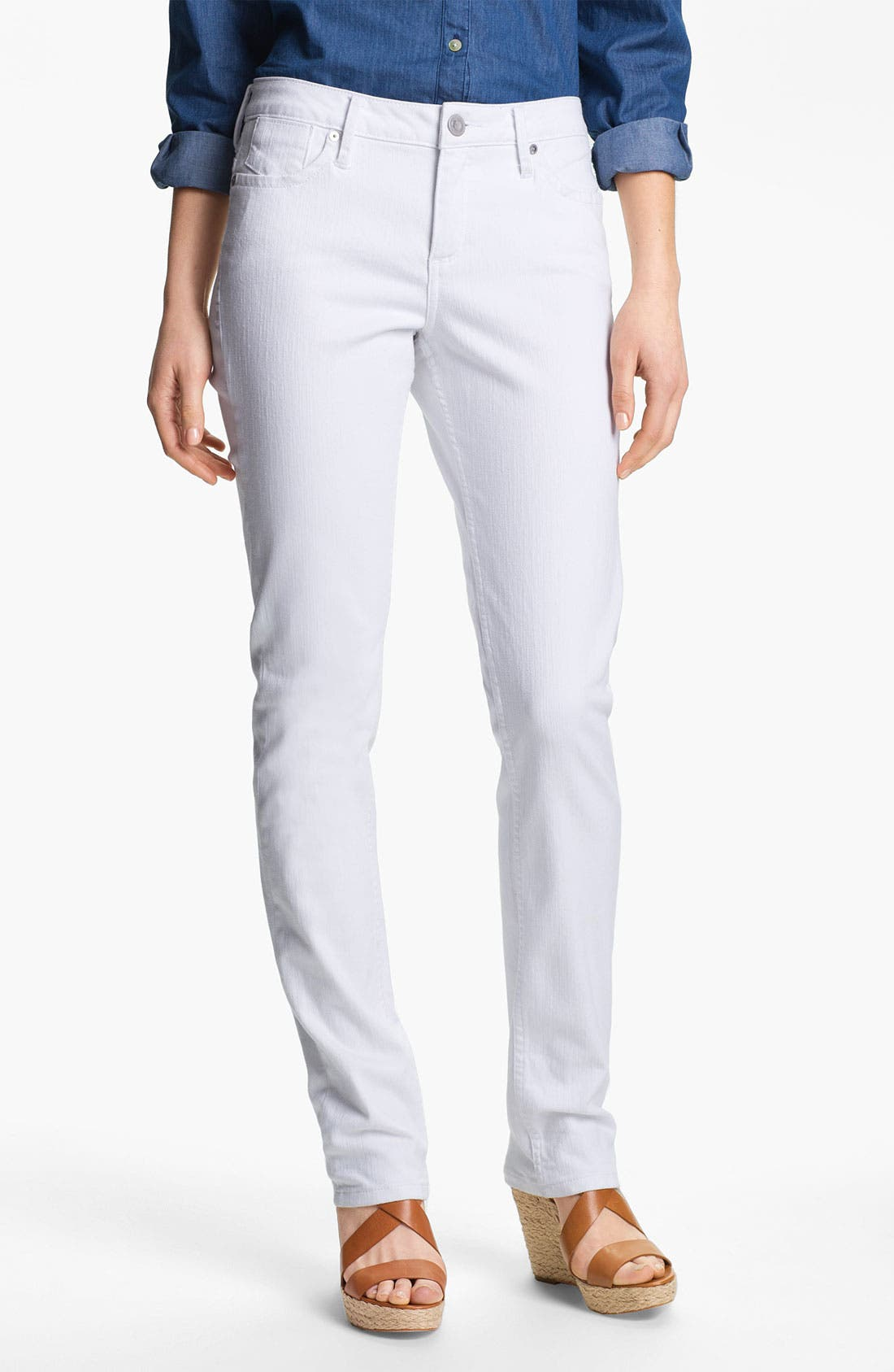 Alternate Image 1 Selected - Christopher Blue 'Sophia - Silverton' Skinny Jeans