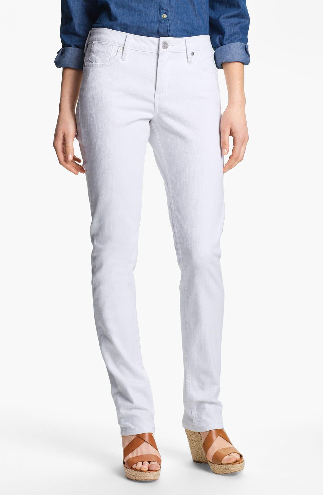 Main Image - Christopher Blue 'Sophia - Silverton' Skinny Jeans