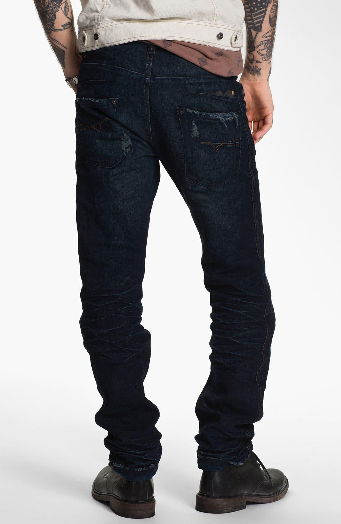 Alternate Image 1 Selected - DIESEL® 'Darron' Slim Tapered Leg Jeans (0809V)