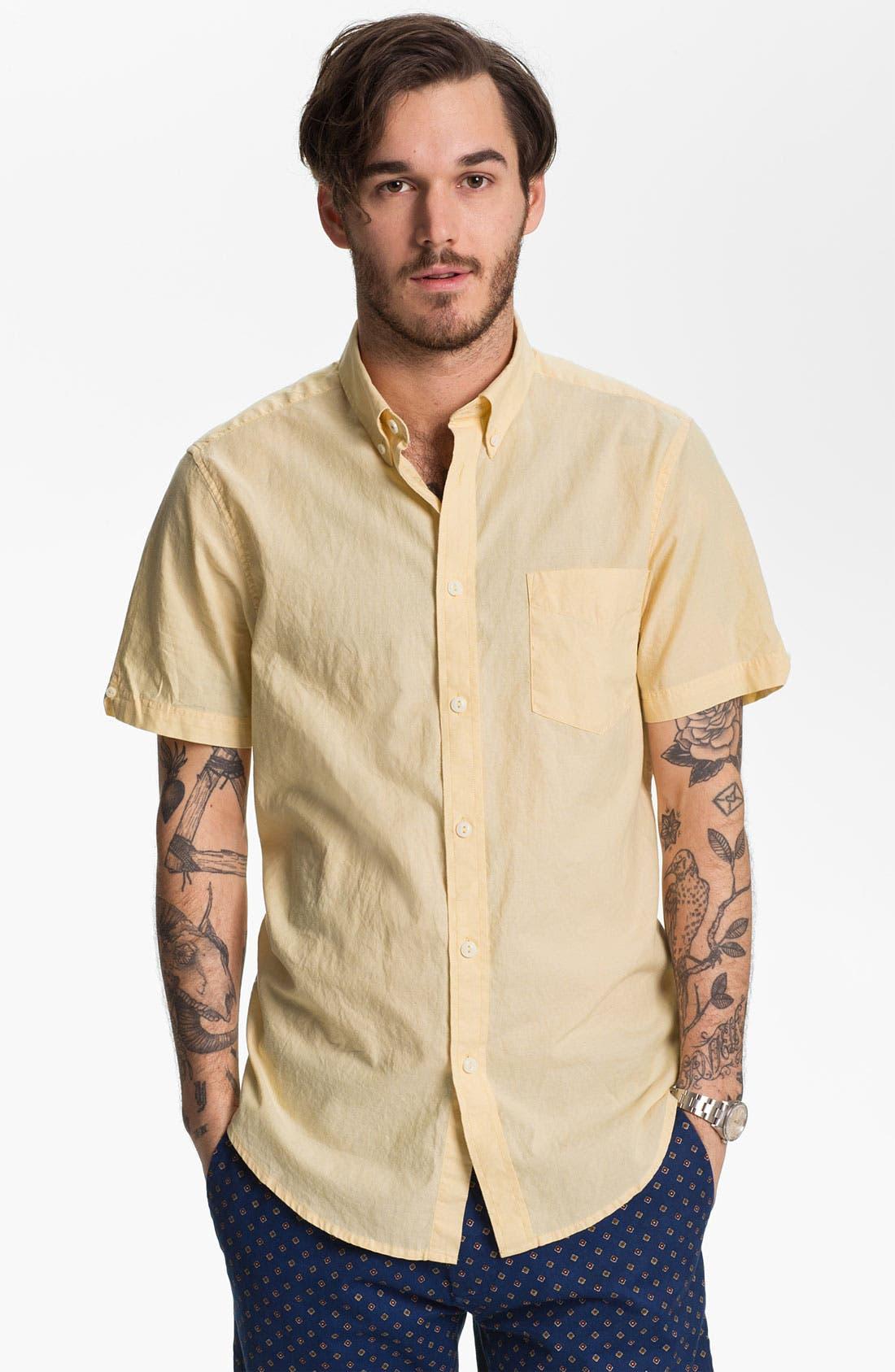 Alternate Image 1 Selected - Ben Sherman Chambray Oxford Shirt